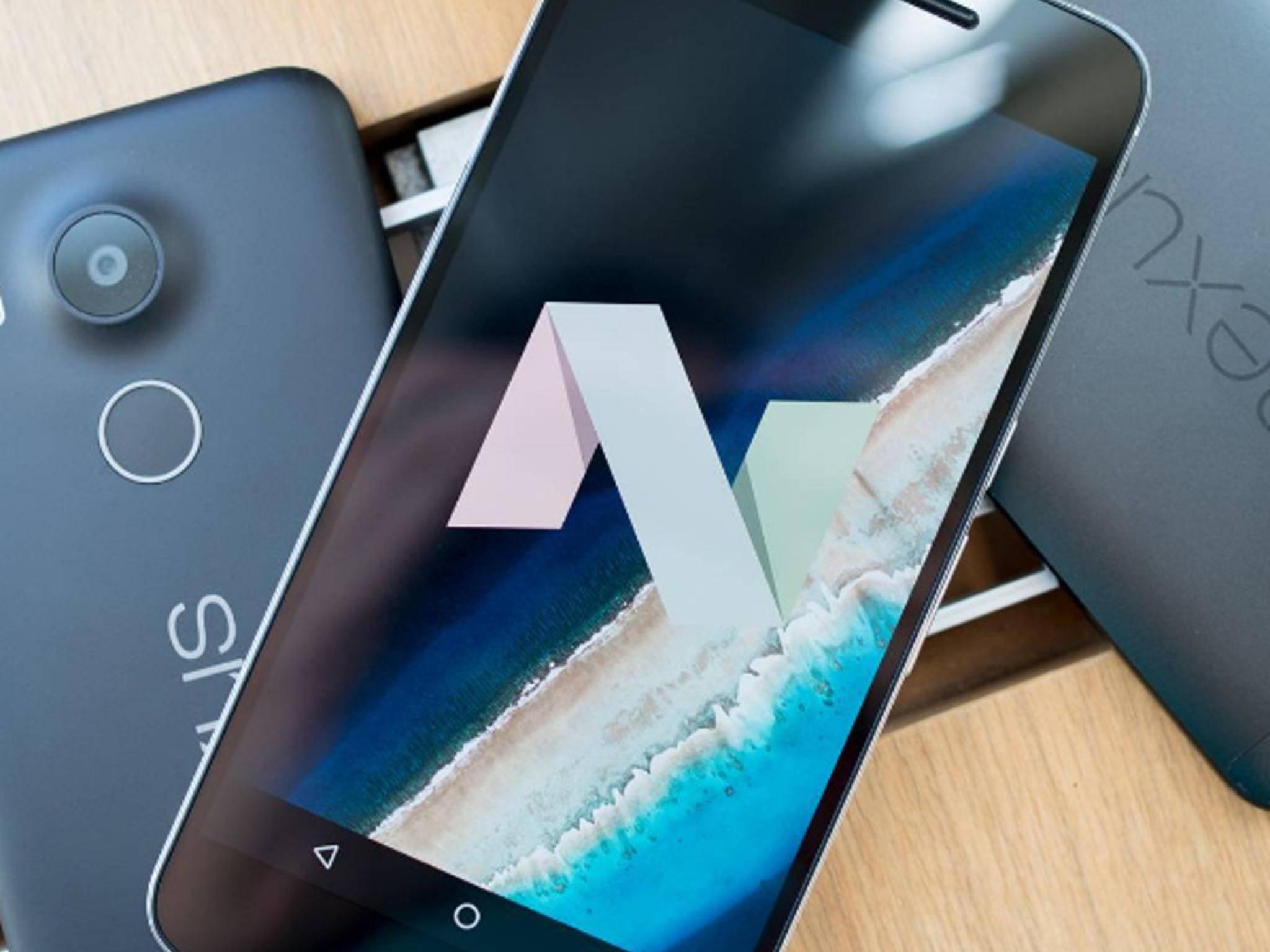 Endlich da: Android 7.0 Nougat.