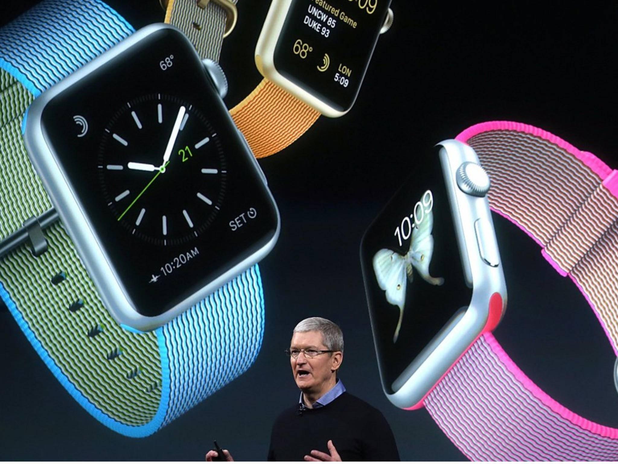 Größerer Akku? Neue Infos zur Apple Watch 2.