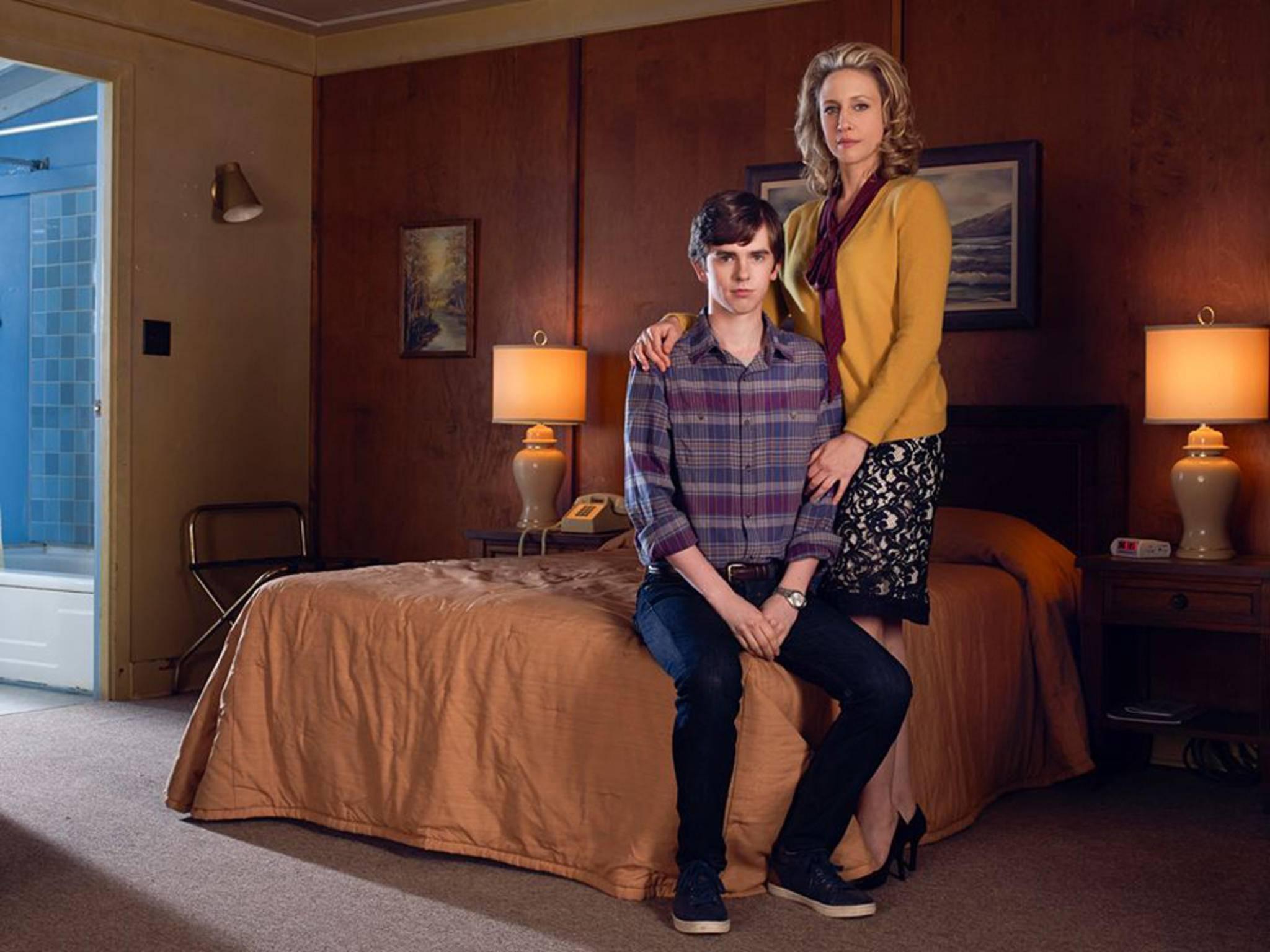 """Die Serie """"Bates Motel"""" basiert auf dem Klassiker """"Psycho""""."""