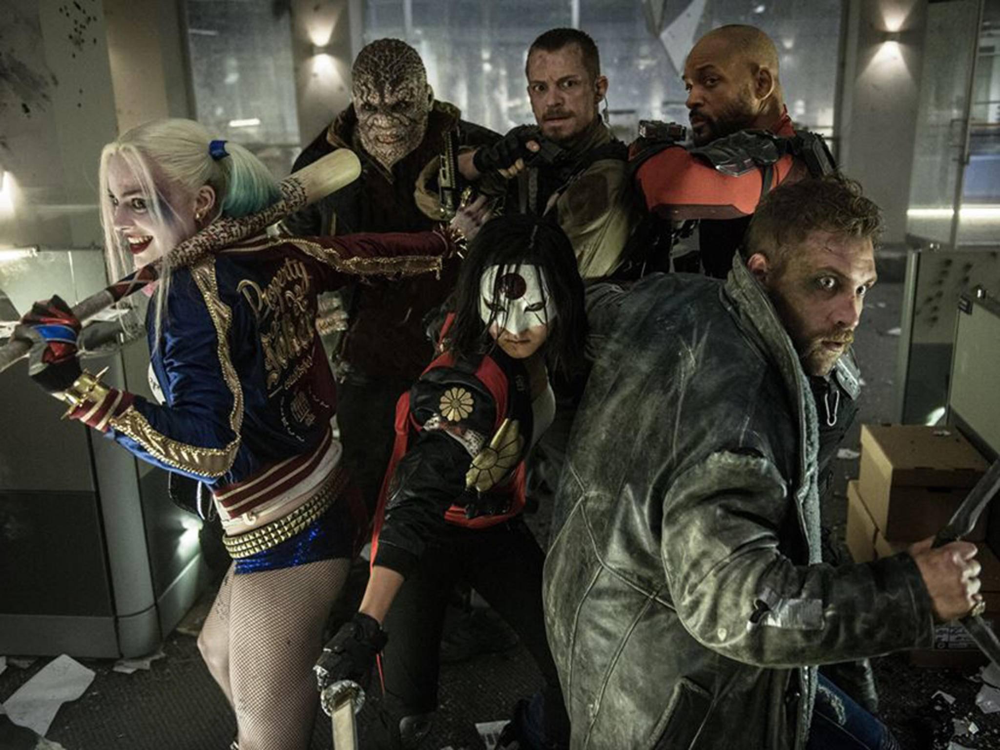 Good guys gone bad: Die Suicide Squad aus dem DC-Universum.