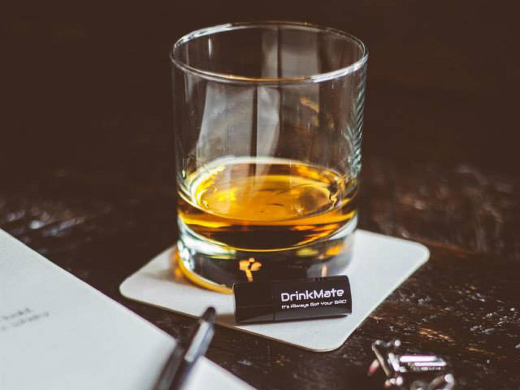 DrinkMate ist ein kleiner Alkoholtest fürs Smartphone.