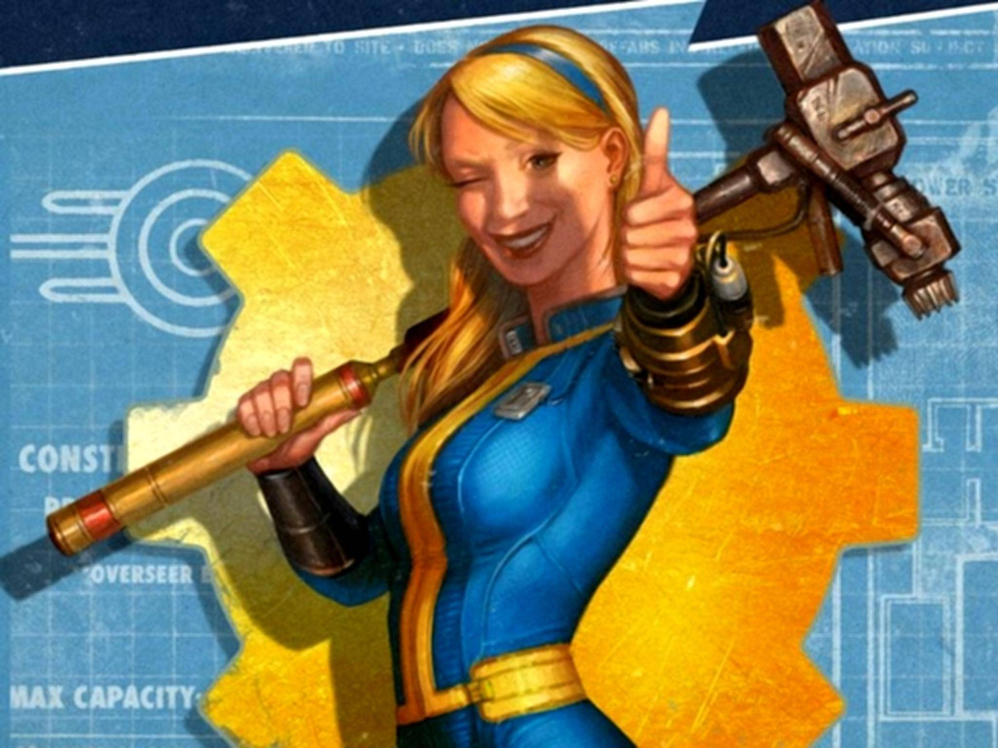 "In ""Fallout 4: Vault-Tec Workshop"" baust Du Deinen eigenen Bunker."