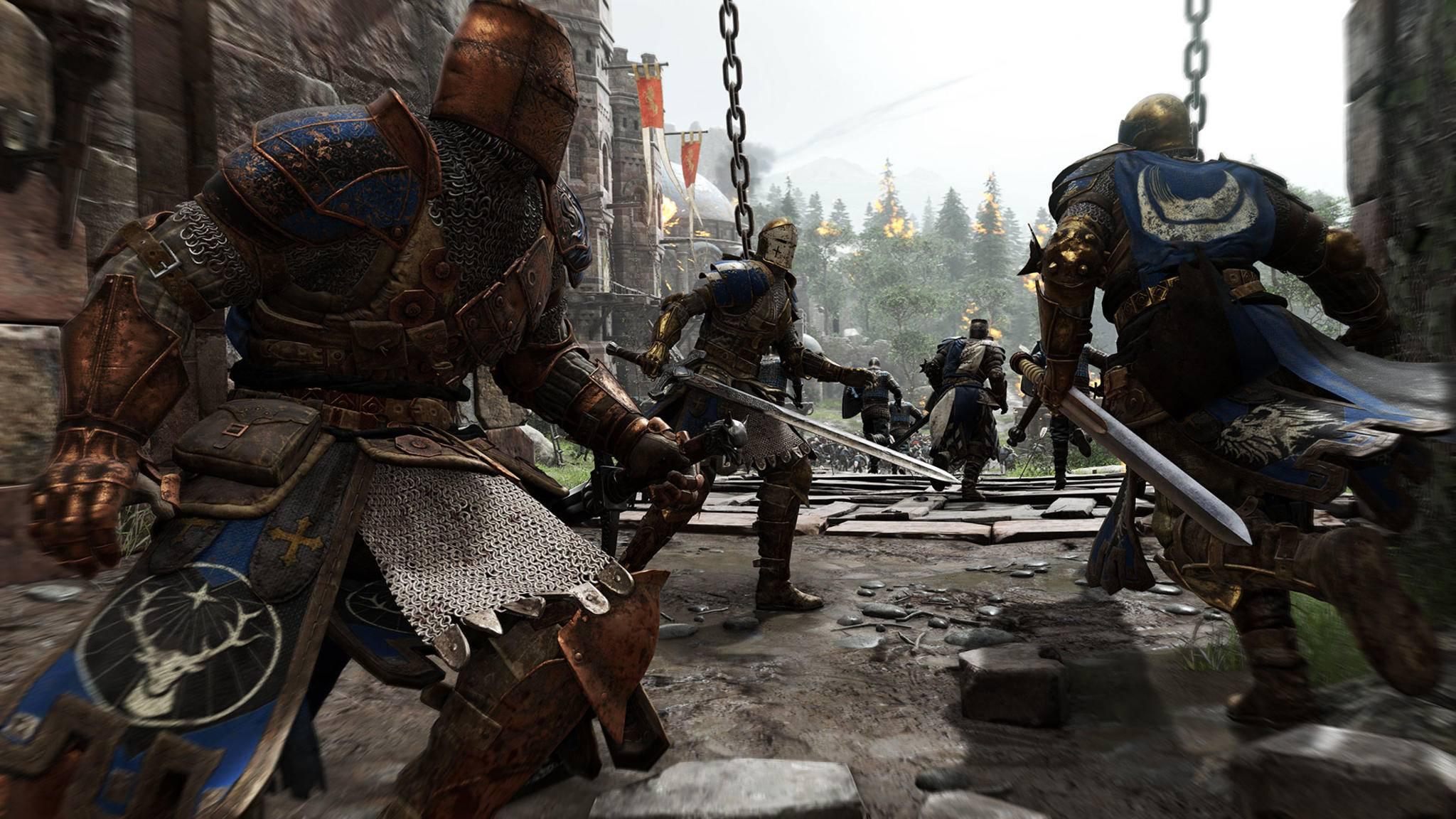 """In """"For Honor"""" treten Wikinger, Samurai und Ritter gegeneinander an."""
