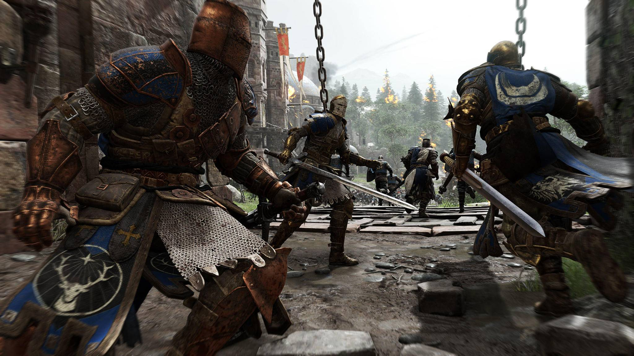 "Screenshot aus ""For Honor""."