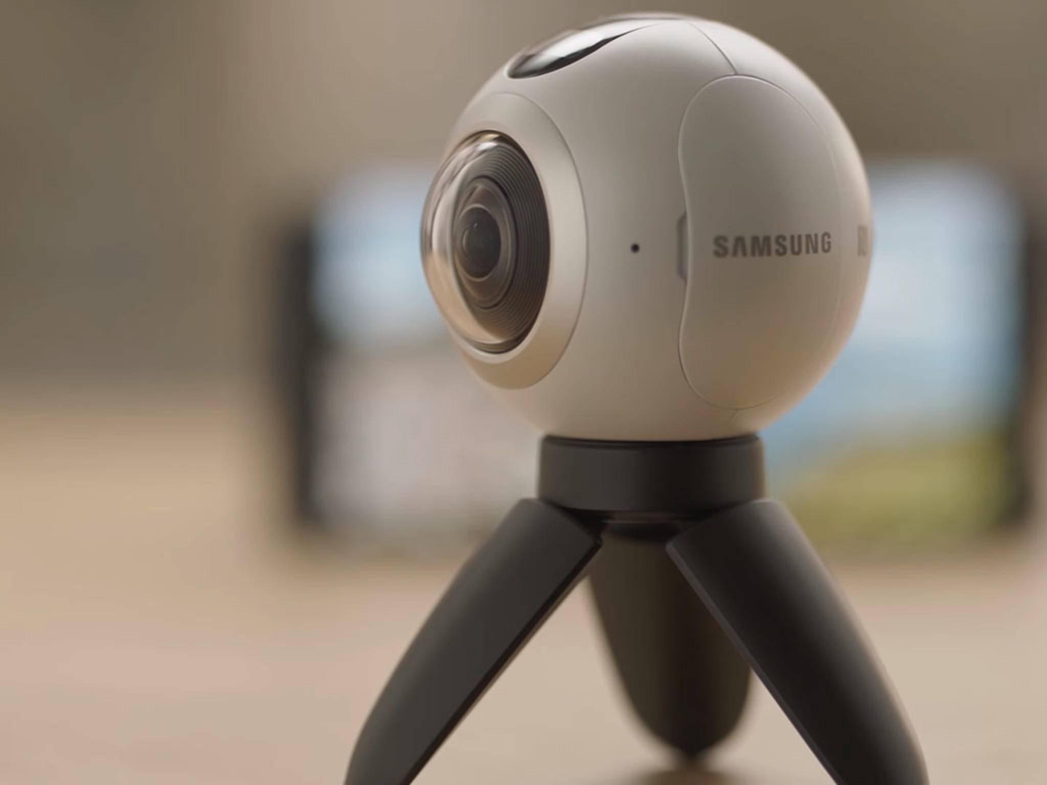 Das Galaxy Note 7 ist u.a. mit der Gear 360 und der Samsung Gear VR-Brille kompatibel.