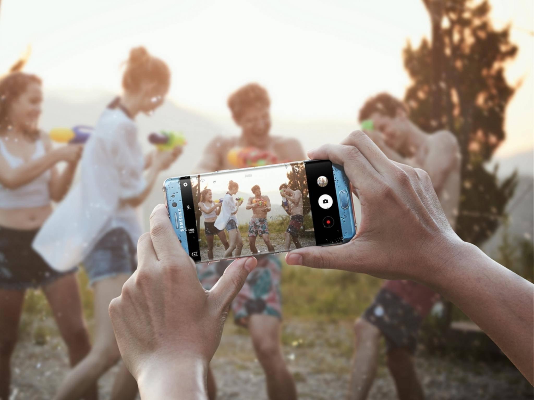 Foto-Fans dürfen sich über eine größere Blende beim Galaxy Note 7 freuen.