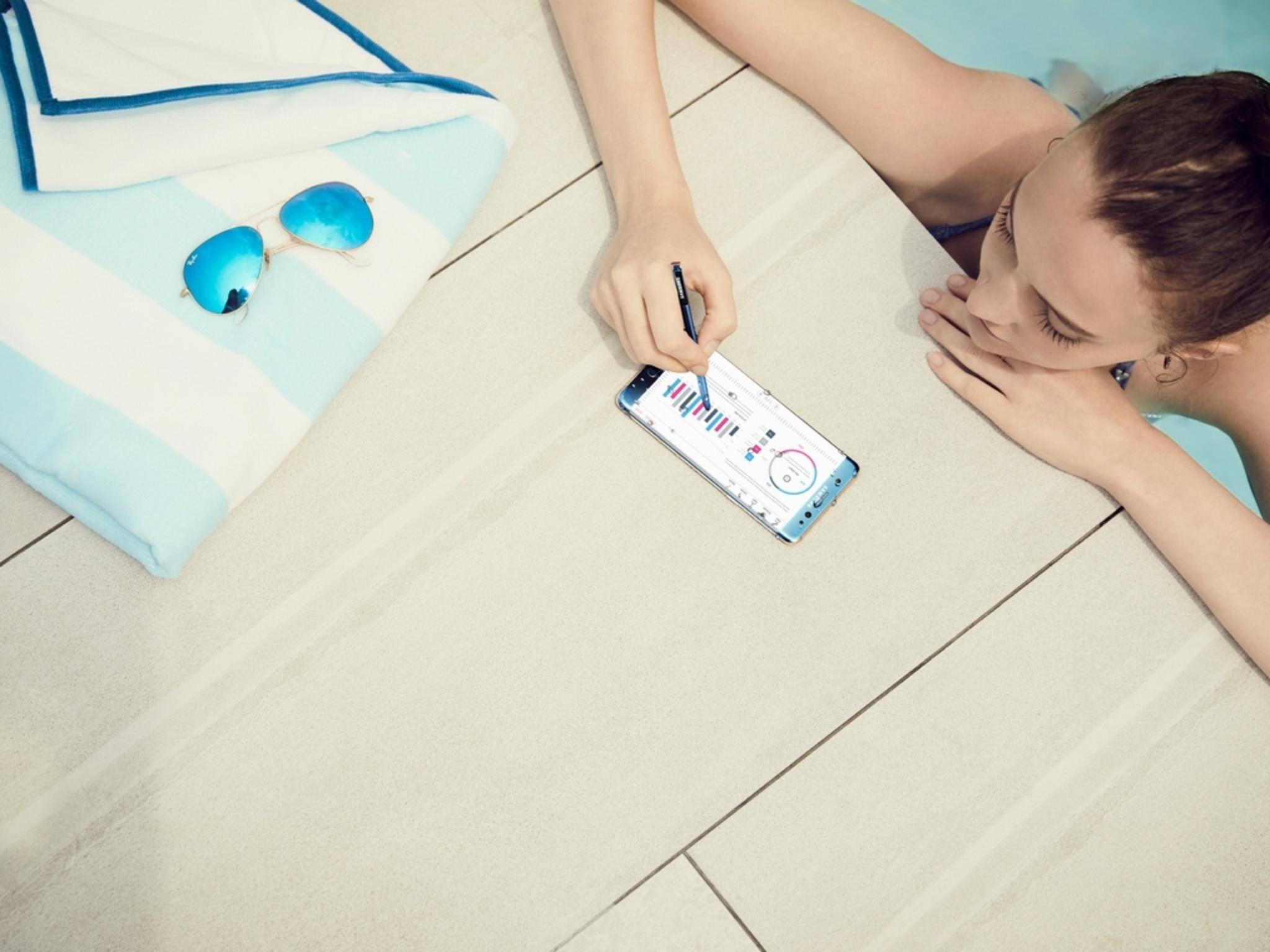 Das Galaxy Note 7 kommt noch besser an als erwartet.