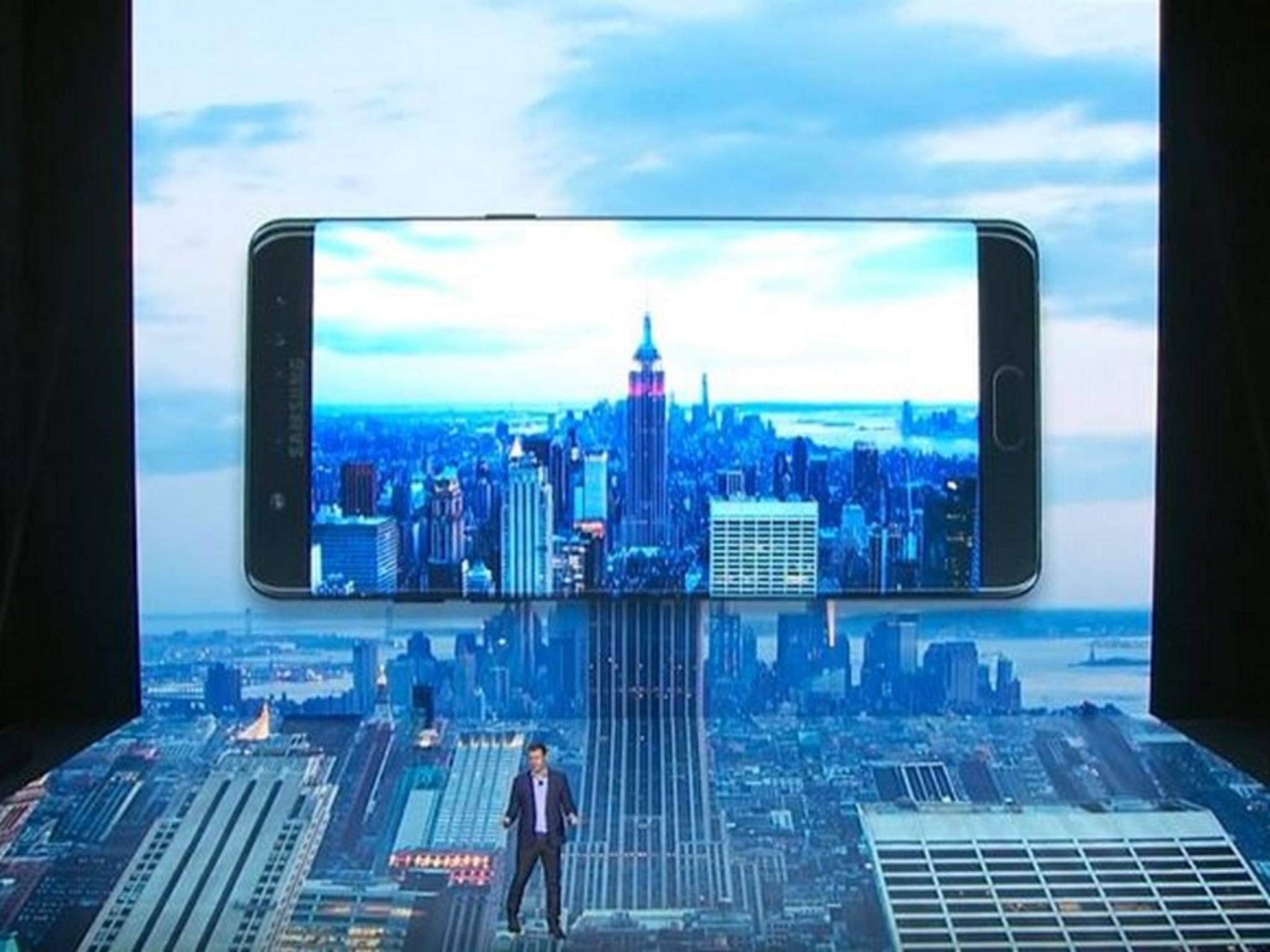 Das Galaxy Note 7 wurde in der vergangenen Woche endlich vorgestellt.