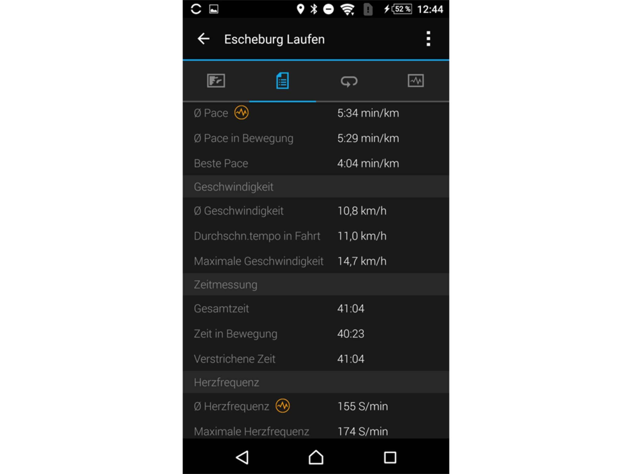 Garmin Connect Mobile App 3