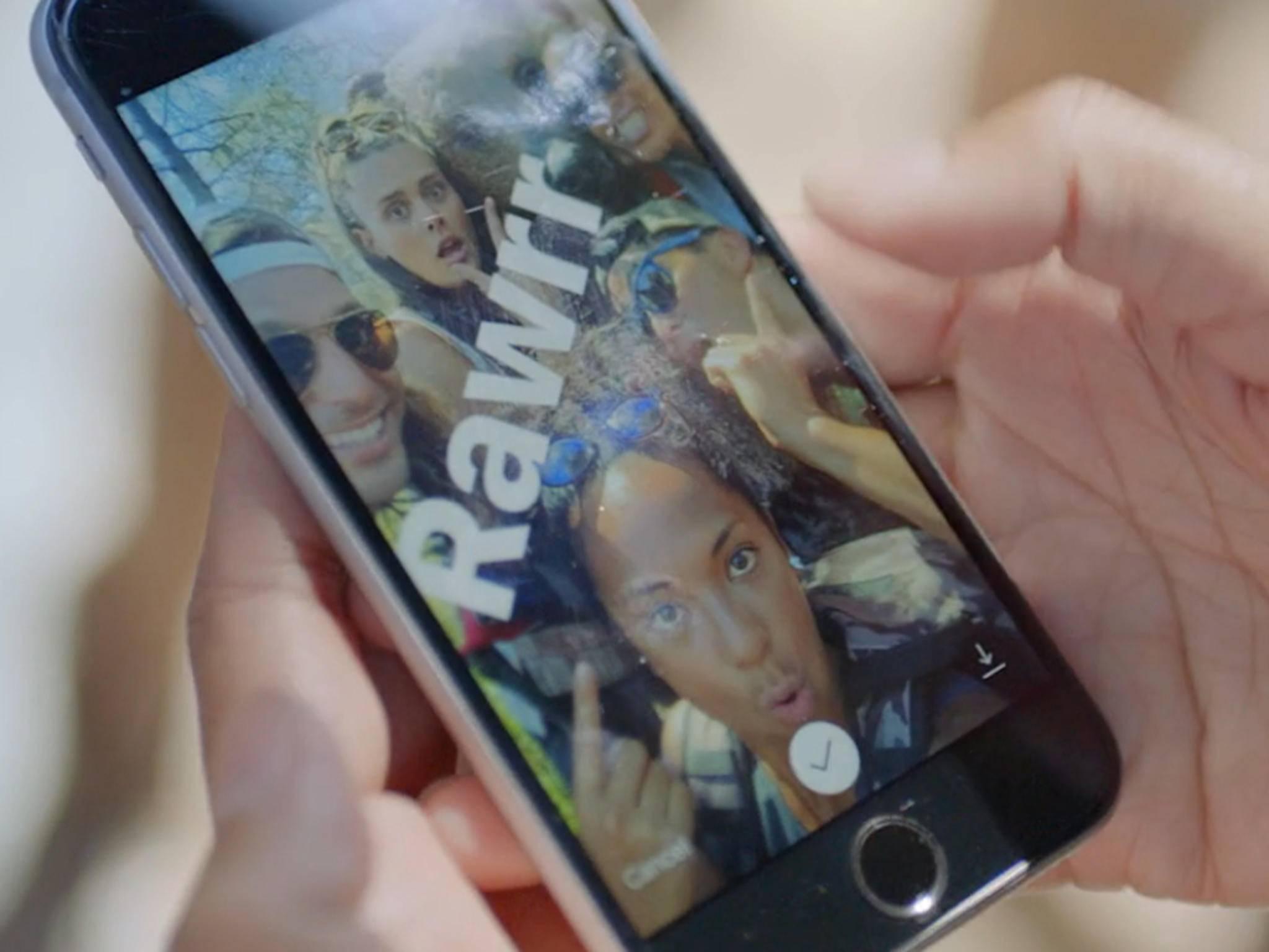 Instagram hat jetzt auch Sticker wie Snapchat.