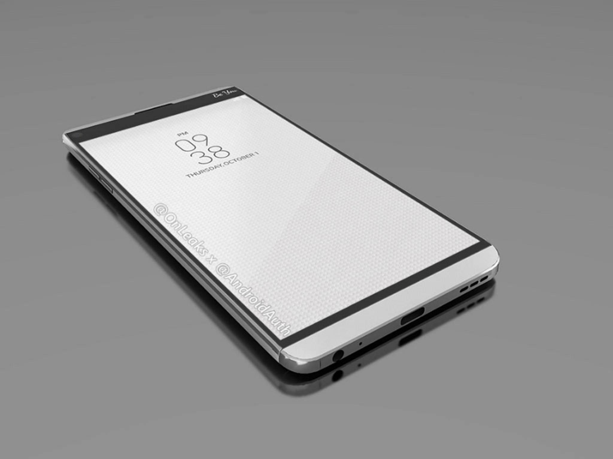 Das LG V20 soll das erste neue Smartphone mit Android 7.0 Nougat sein.