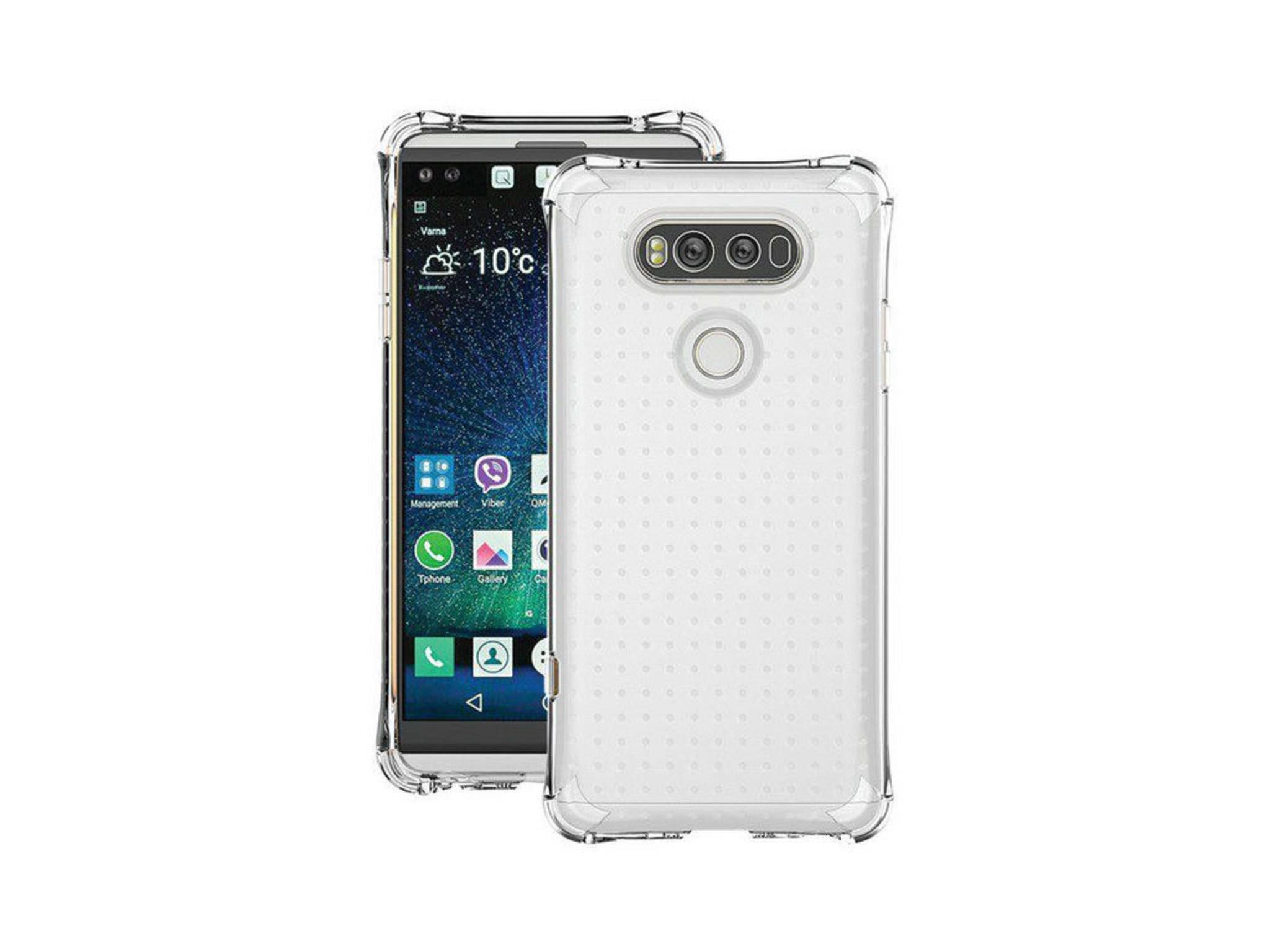 Auch Case-Hersteller Ballistic teilte bereits ein klares Bild des LG V20.