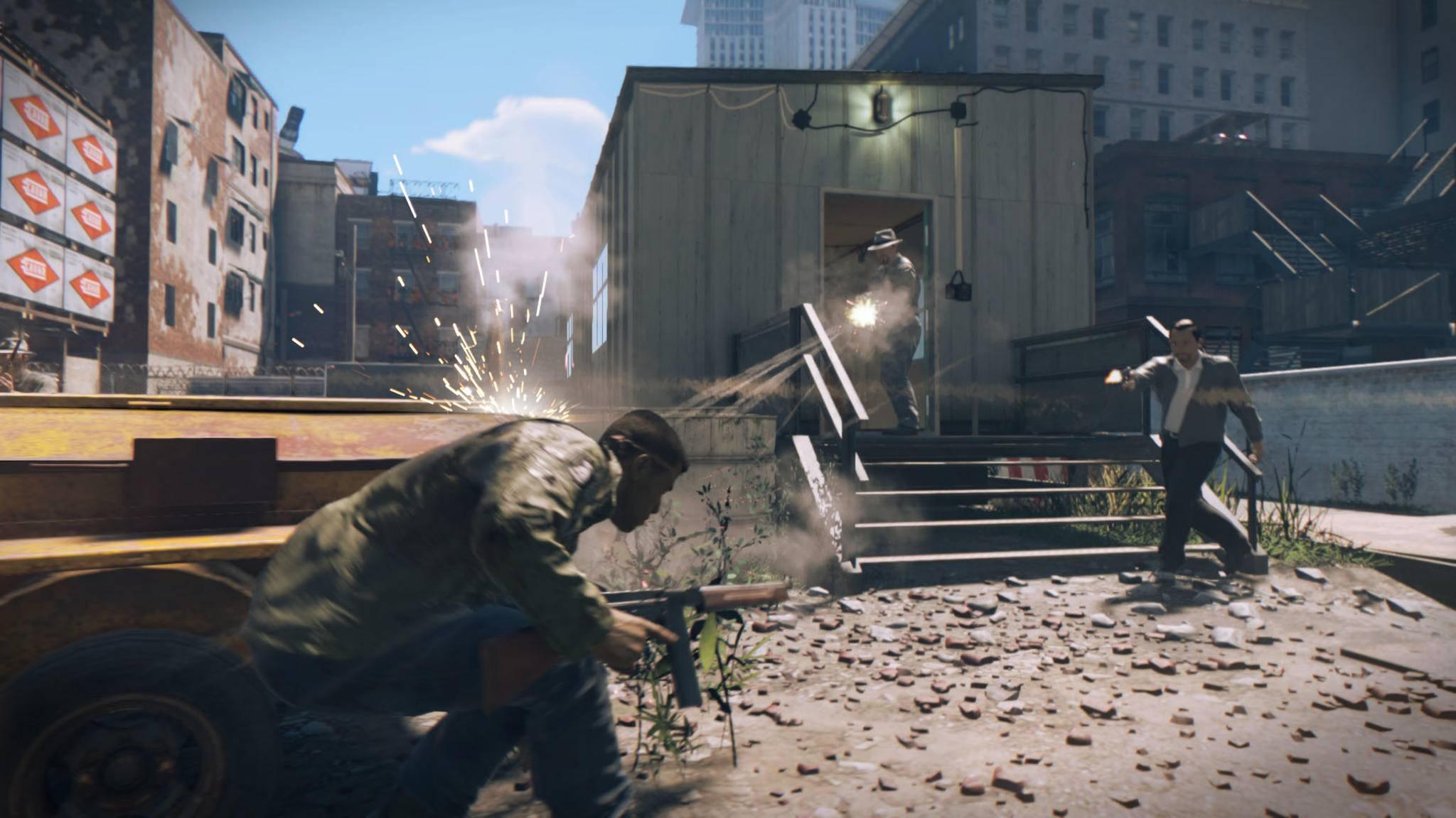 """""""Mafia 3"""" ist voller Action – und voller Bugs."""