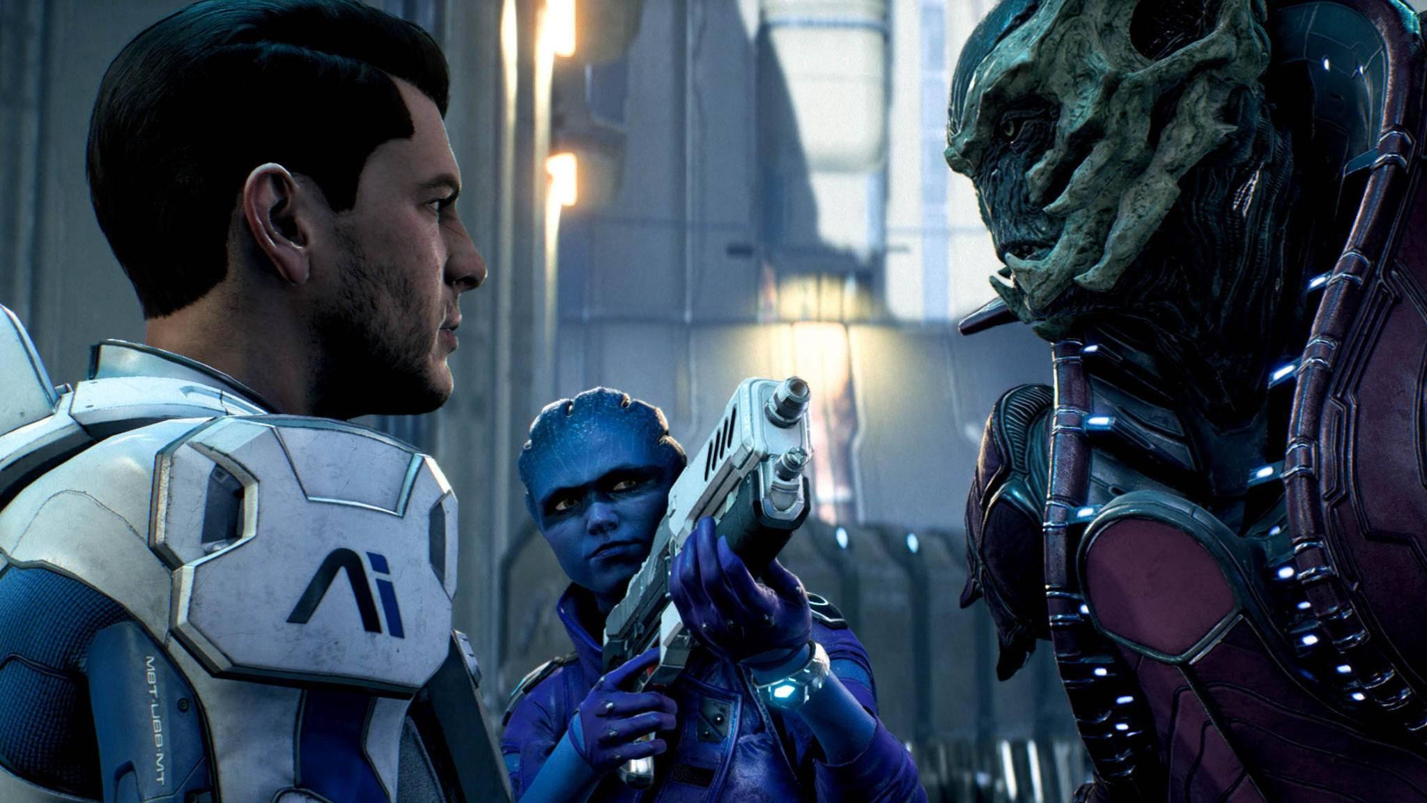 """""""Mass Effect: Andromeda"""": Beziehungen zwischen den Spielfiguren stehen im Mittelpunkt."""