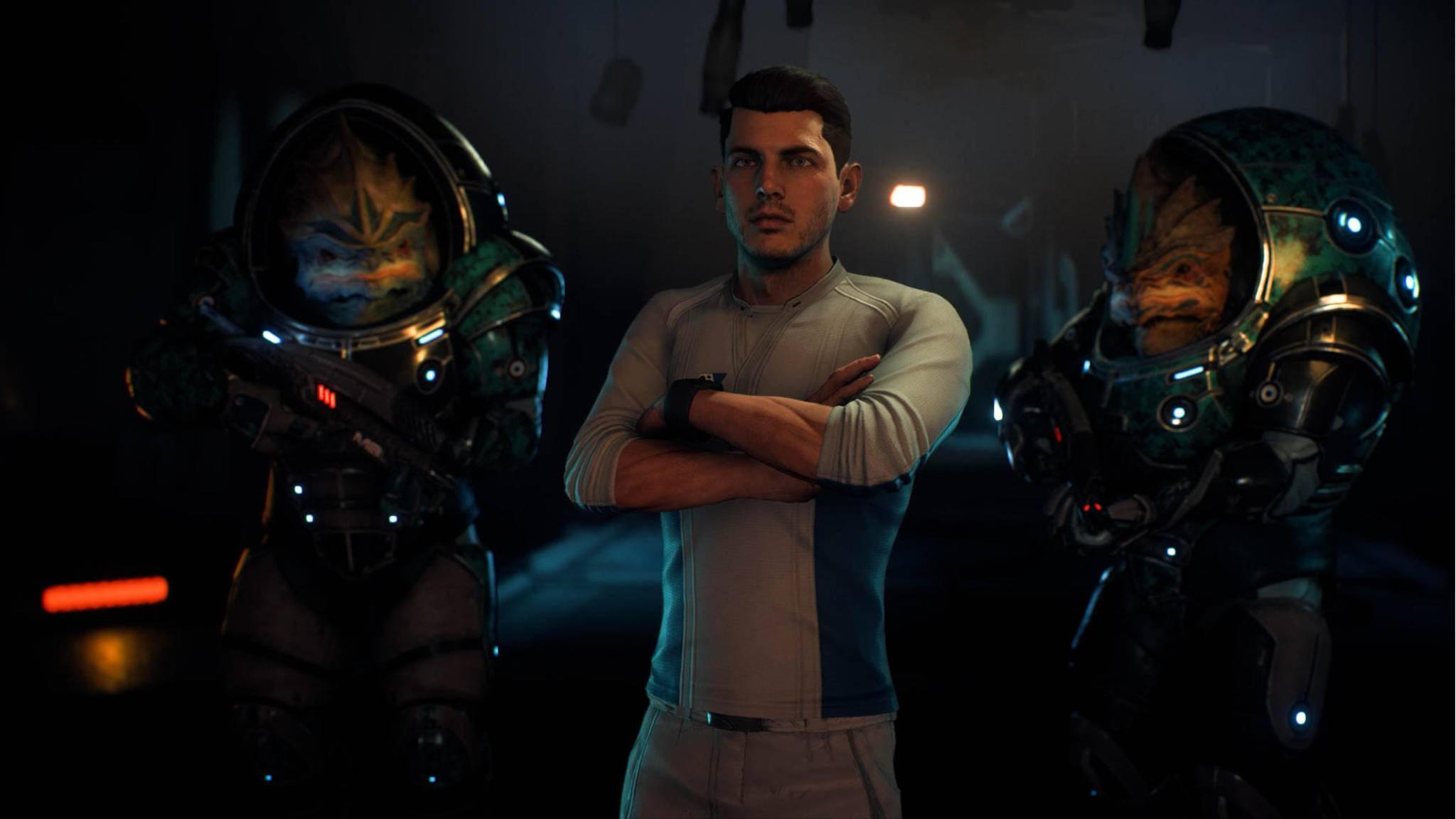 """Menschliche Gesichter waren bisher nicht gerade eine Stärke von """"Mass Effect: Andromeda""""."""