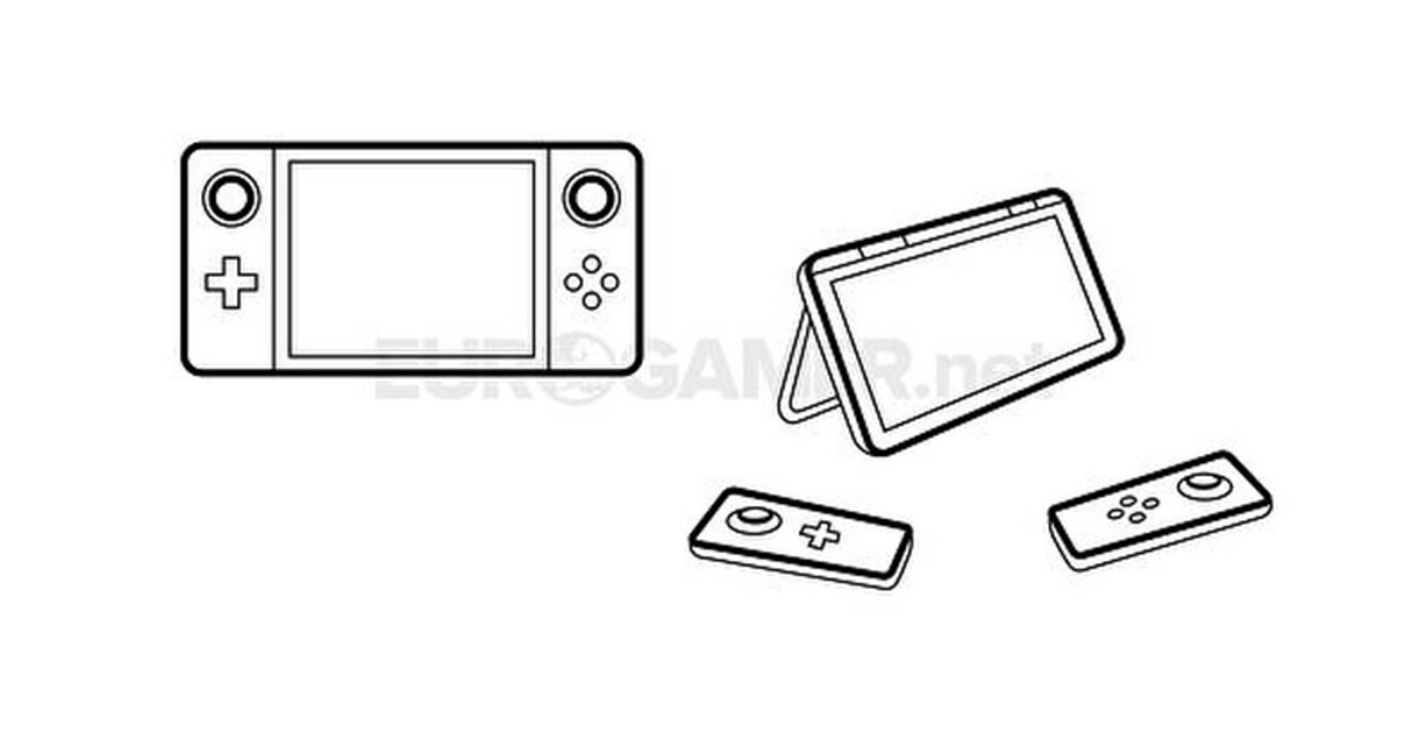 So soll der Prototyp der Nintendo NX ausgesehen haben.