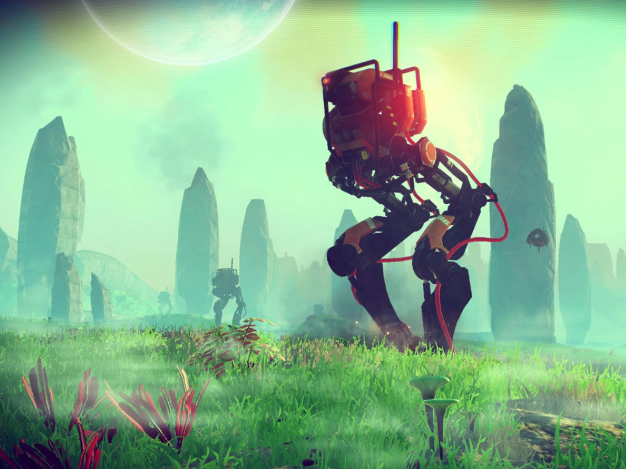 """""""No Man's Sky"""" erschien in der vergangenen Woche für PS4 und PC."""