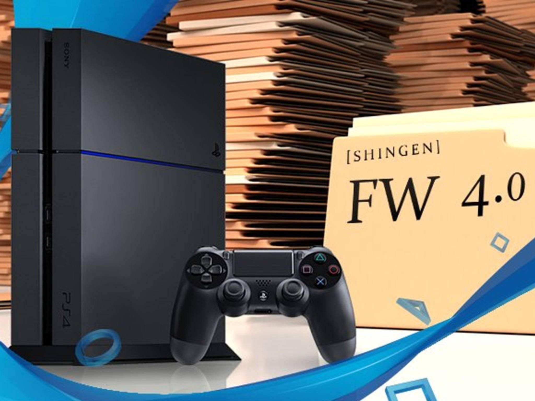 PlayStation 4: Mit dem Update 4.0 kommen viele neue Features.