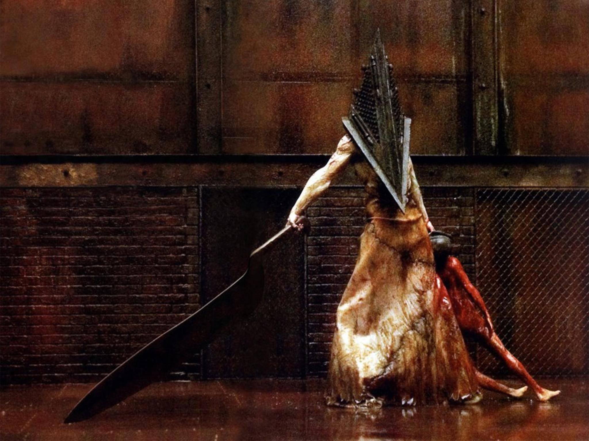 """Verbreitet in """"Silent Hill"""" Angst und Schrecken: Pyramid Head."""