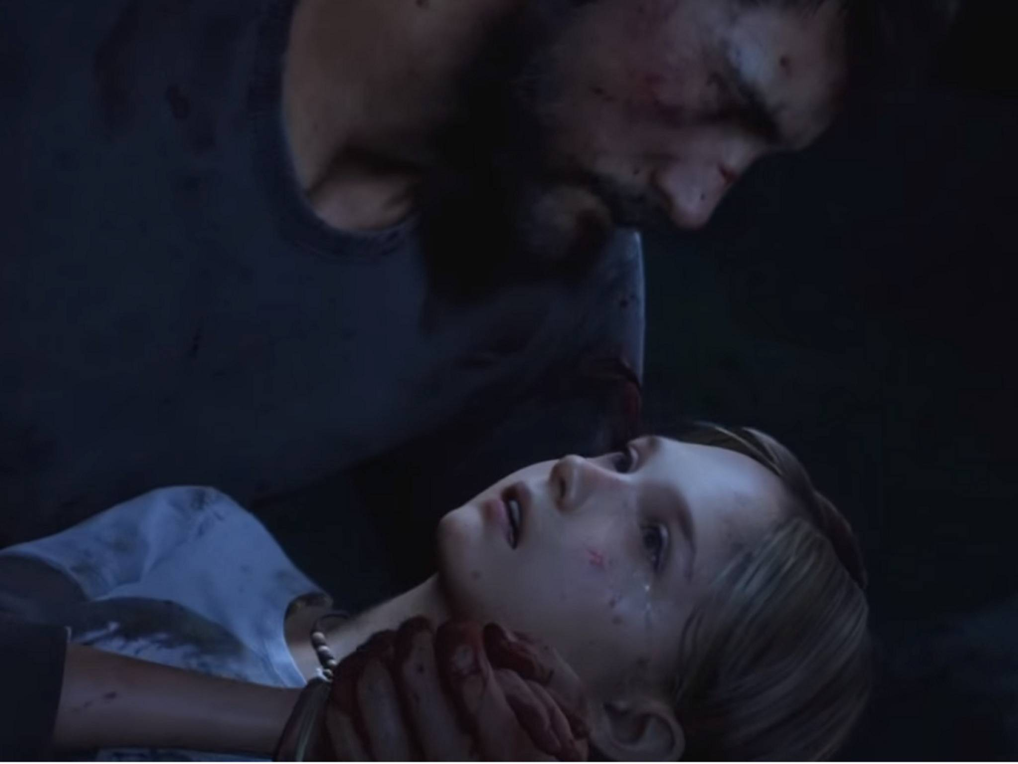 "In ""The Last of Us"" stirbt Sarah in den Armen ihres Vaters."