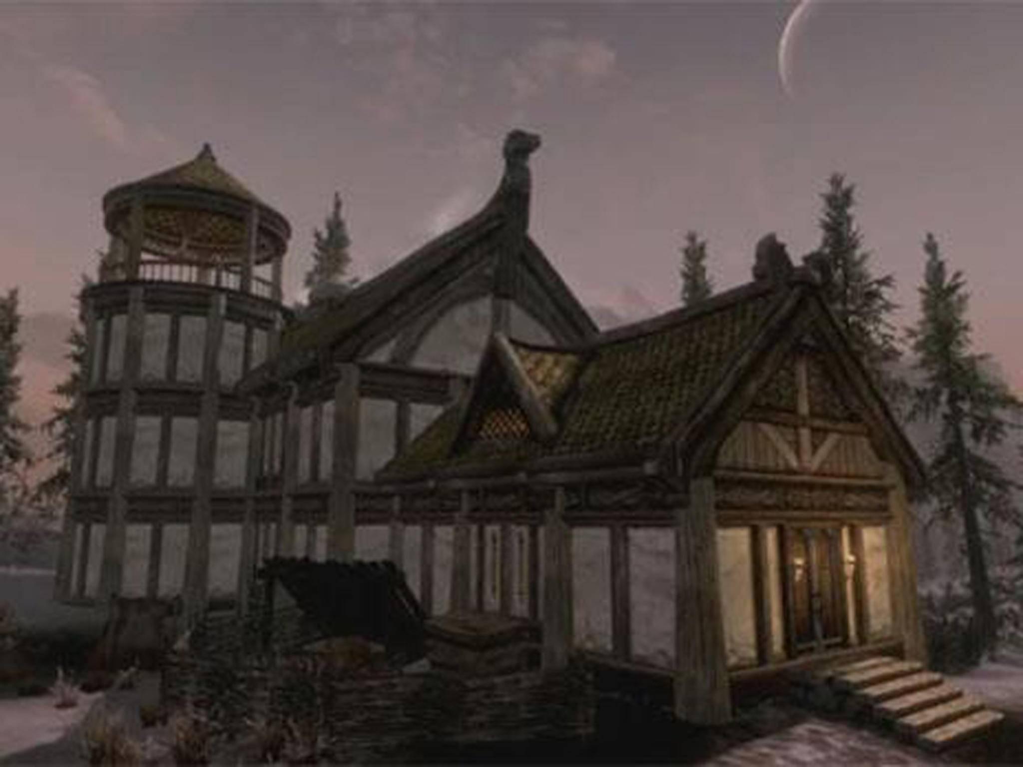 """Seit dem DLC """"Hearthfire"""" kannst Du Dein eigenes Haus bauen."""
