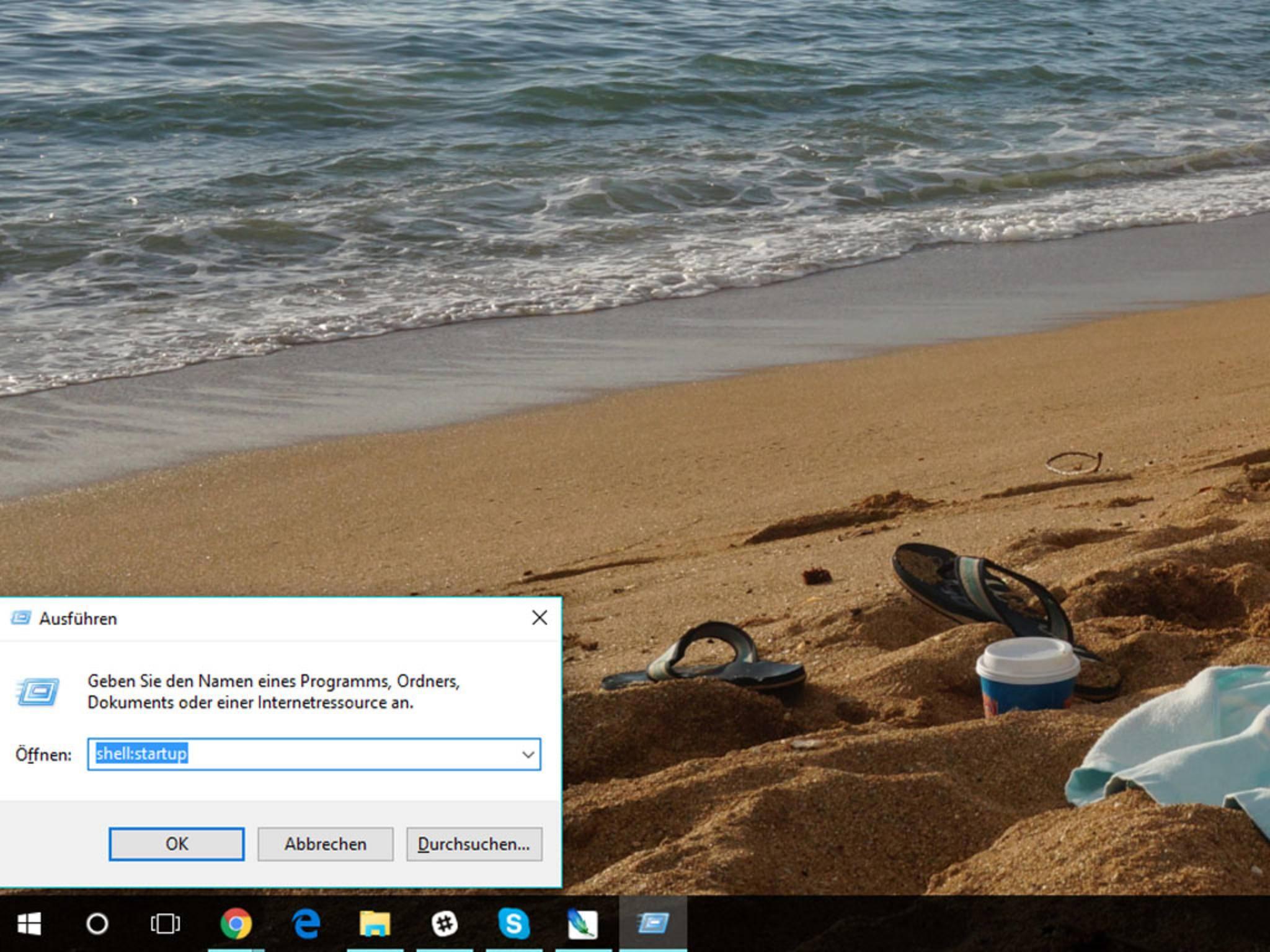 """Die Tastenkombination """"Windows + R"""" öffnet das """"Ausführen""""-Fenster, ..."""