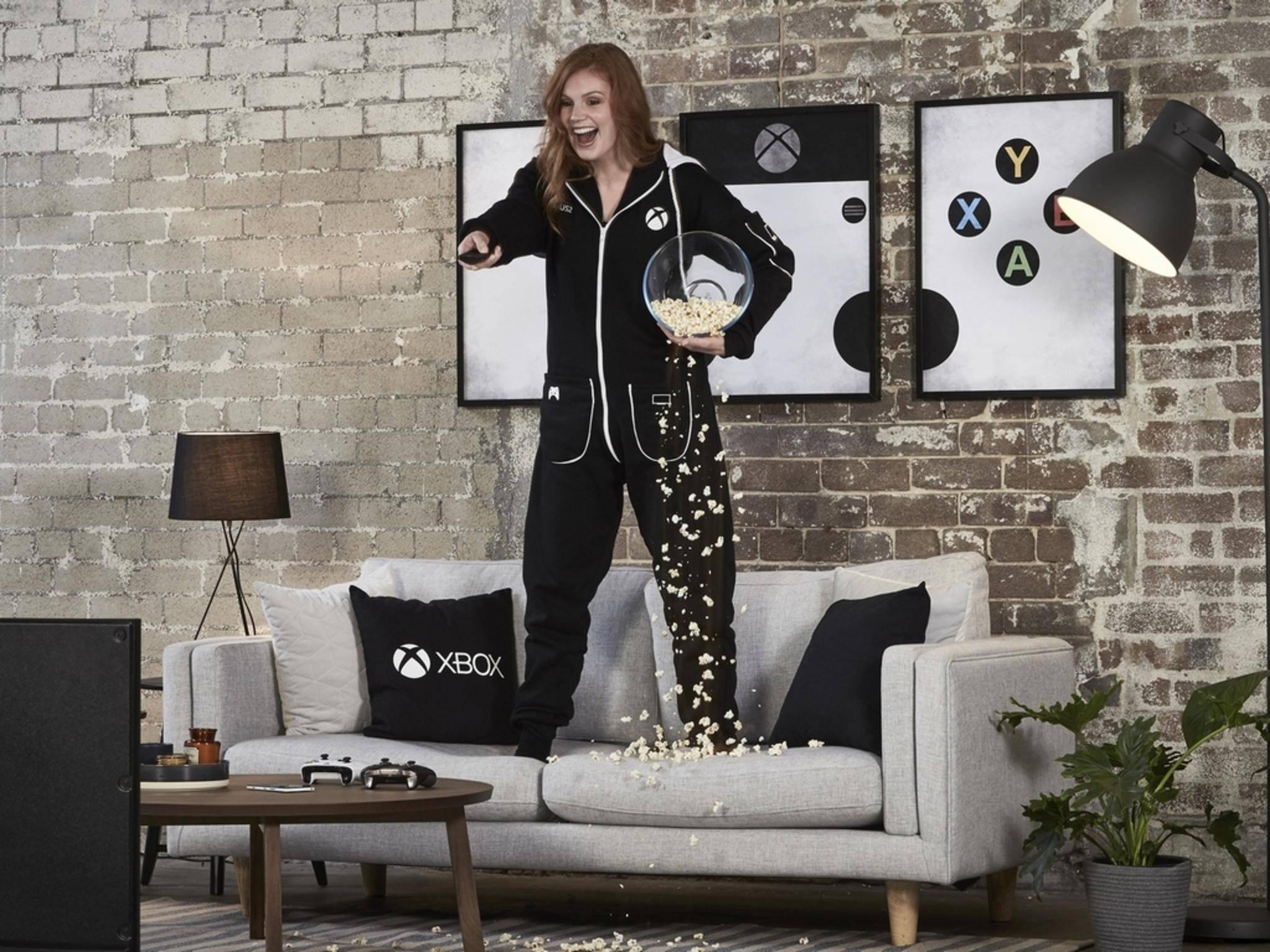 """Der """"Xbox Onsie"""" soll das perfekte Outfit für Zocker sein."""