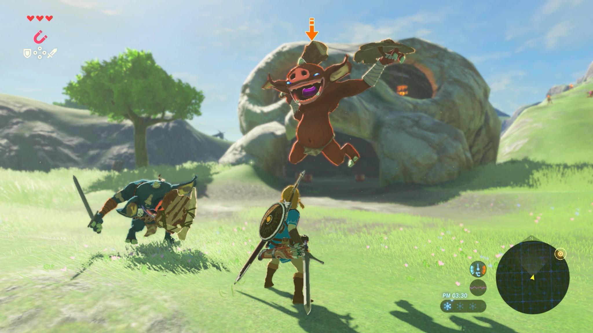 """Ein Held, eine große Welt, viele Monster – was """"Zelda"""" kann, kann """"Pokémon"""" schon lange!"""