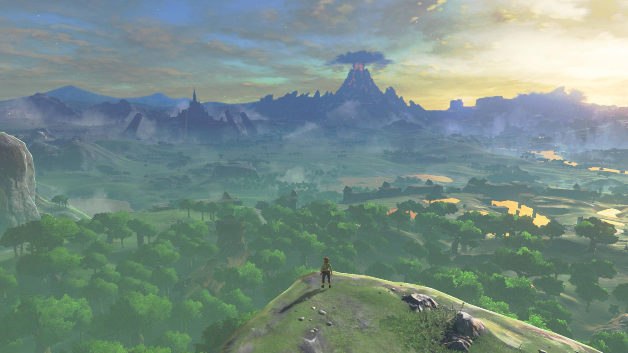 """Die Open-World von """"The Legenda of Zelda: Breath of the Wild"""" ist riesig – aber das ist nicht ihr wichtigstes Merkmal ..."""