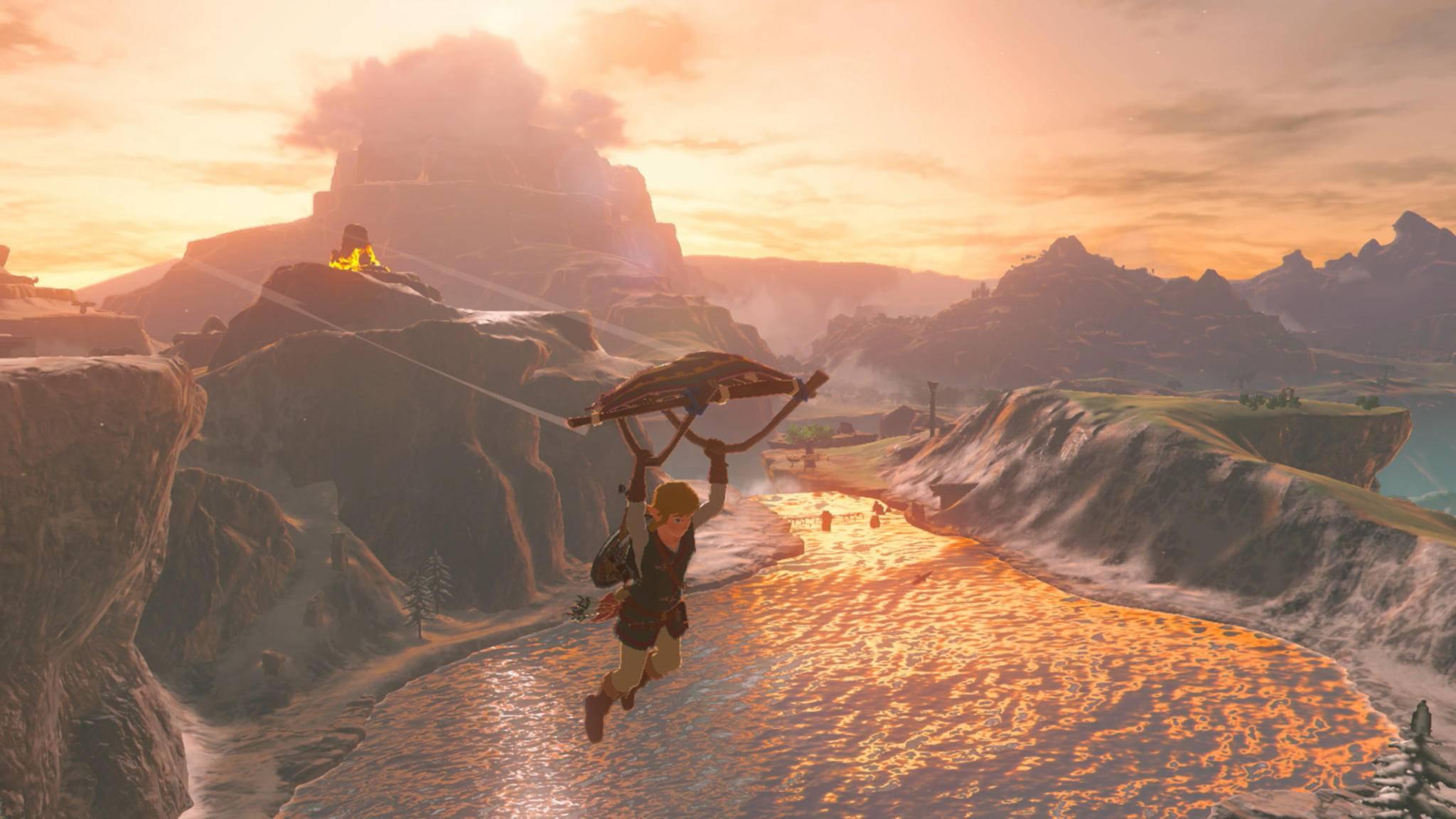 Bis Link zu neuen Abenteuern segelt, dauert es wohl noch eine ganze Weile ...