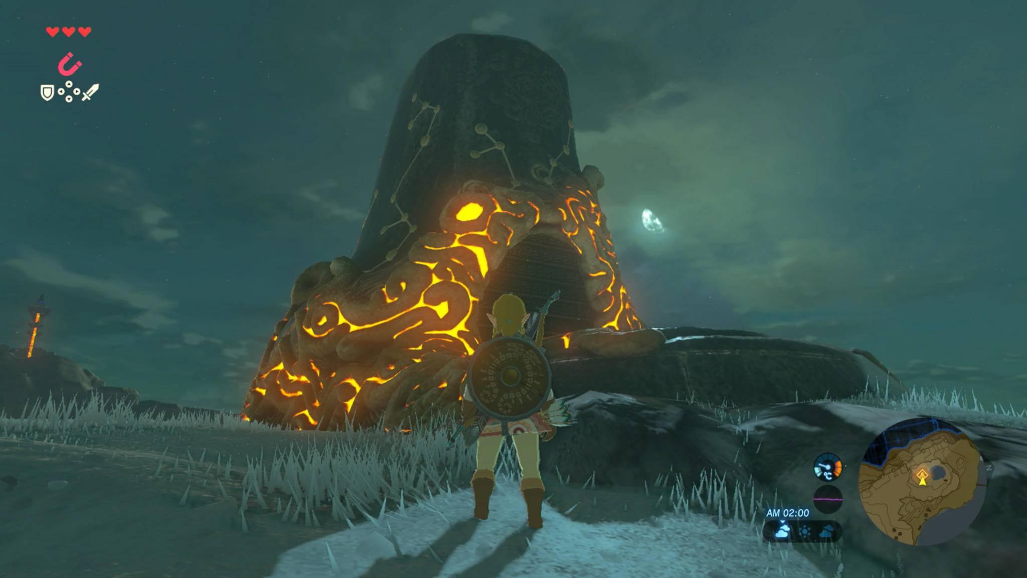 """Die kleineren Rätsel-Schreine ersetzen die alten Dungeons in """"The Legend of Zelda: Breath of the Wild"""" fast komplett."""