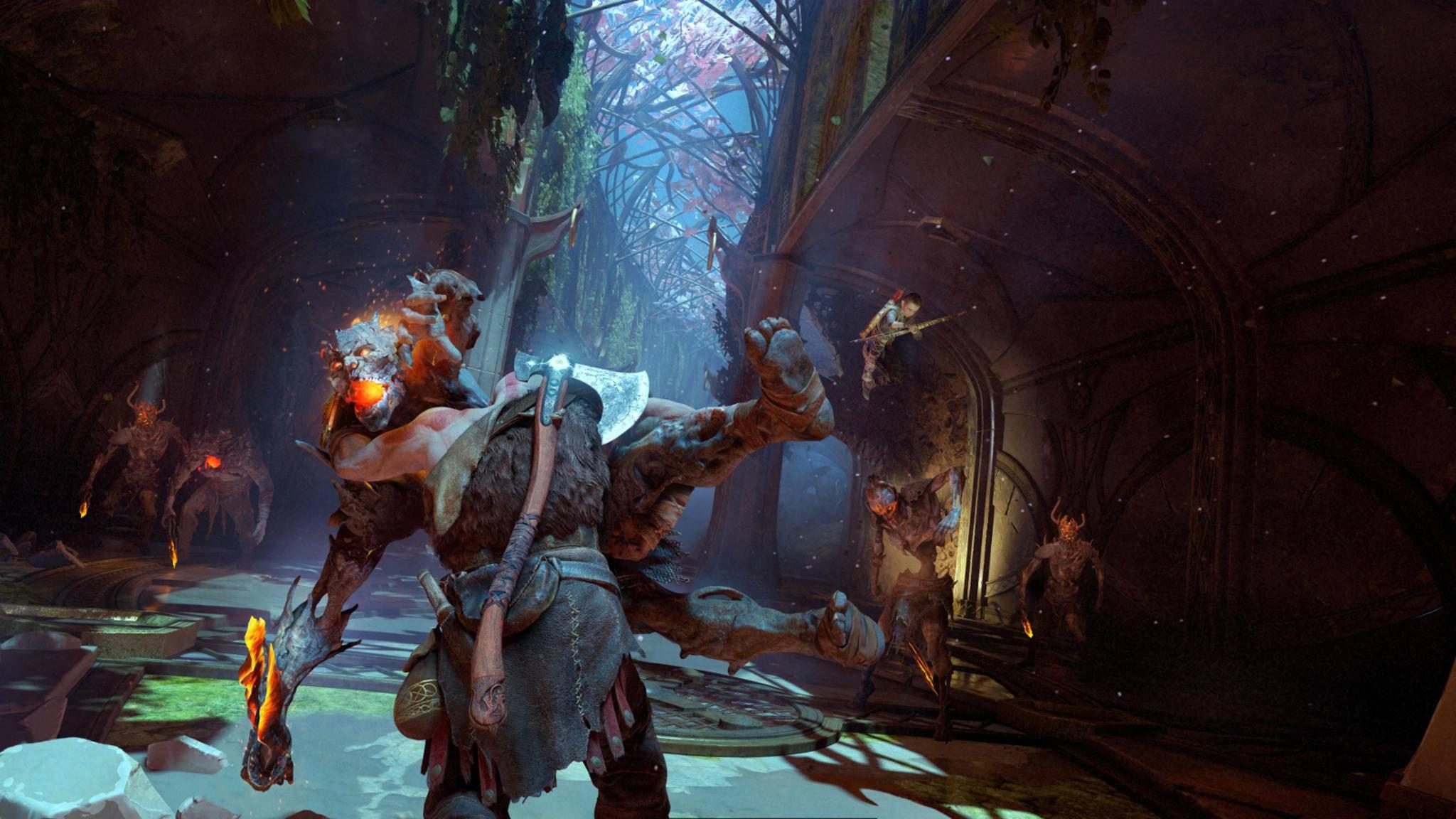 """""""God of War"""": So holst Du im Kampf das Maximum an Wut aus Kratos heraus."""