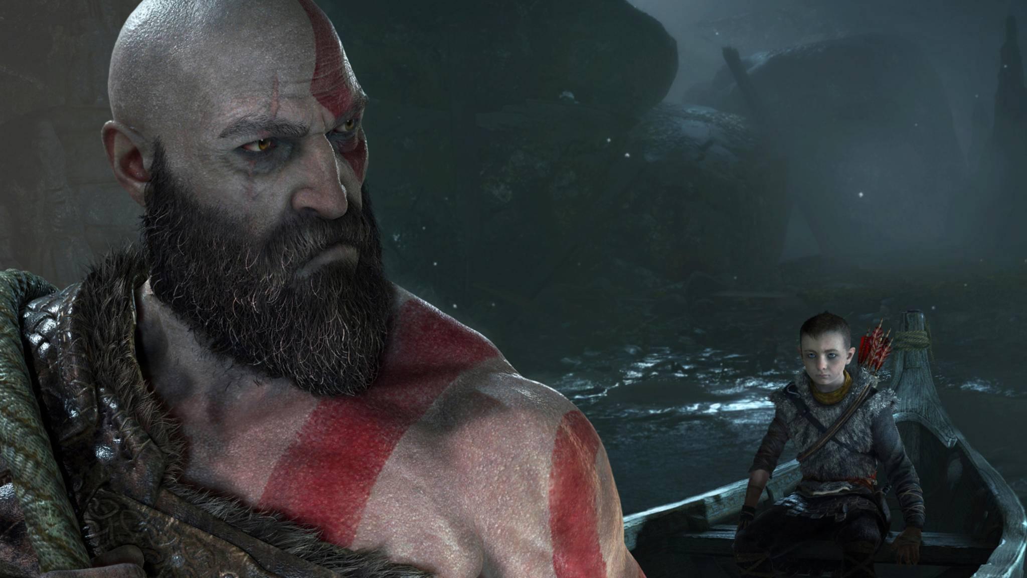 """Kratos taucht im neuen """"God of War"""" tief in die germanische Mythologie ein – und besucht unter anderem das eisige Niflheim."""