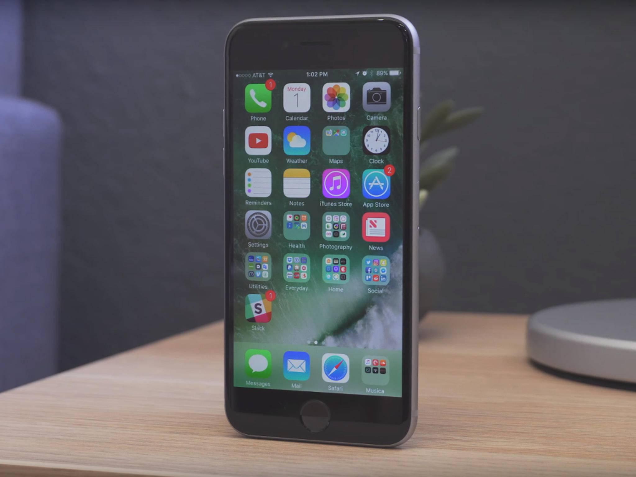 Am Freitag veröffentlichte Apple überraschend iOS 10 Beta 7.