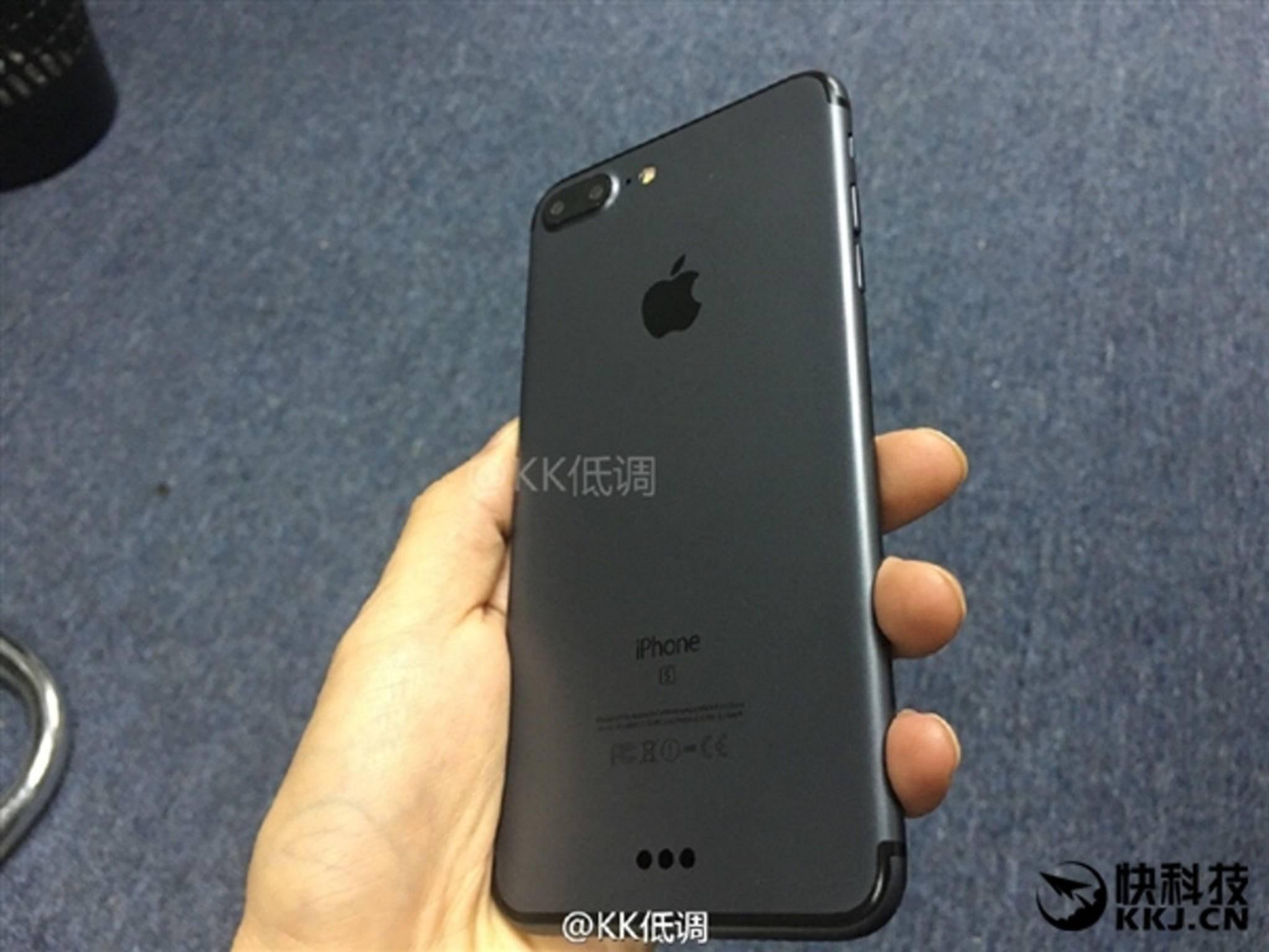 So sieht das neue iPhone 7 Plus angeblich aus.