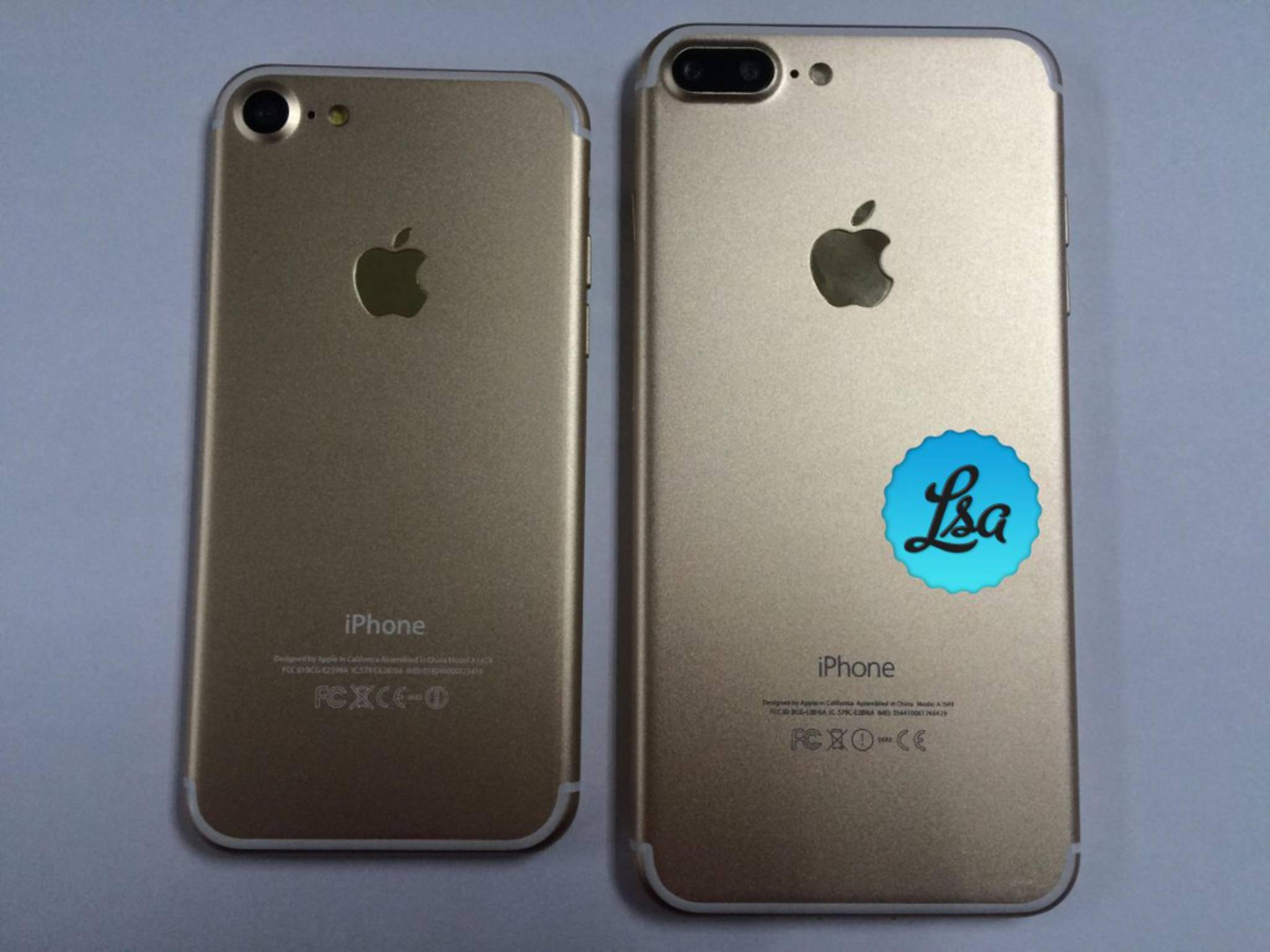 Diese iPhone 7-Fotos stammen von einem Zubehörhersteller.
