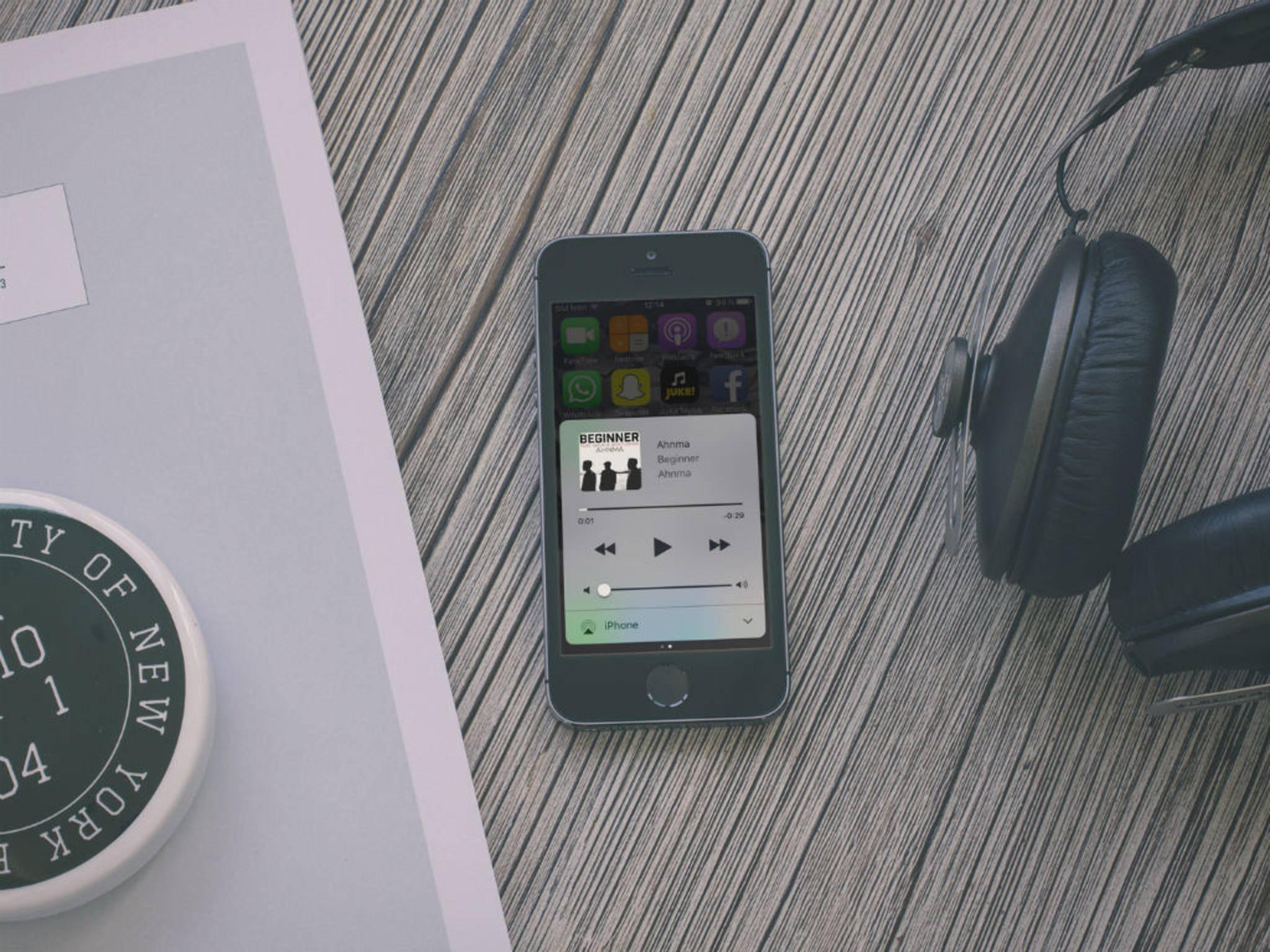Mit dem Equalizer kannst Du auf dem iPhone den Sound anpassen.