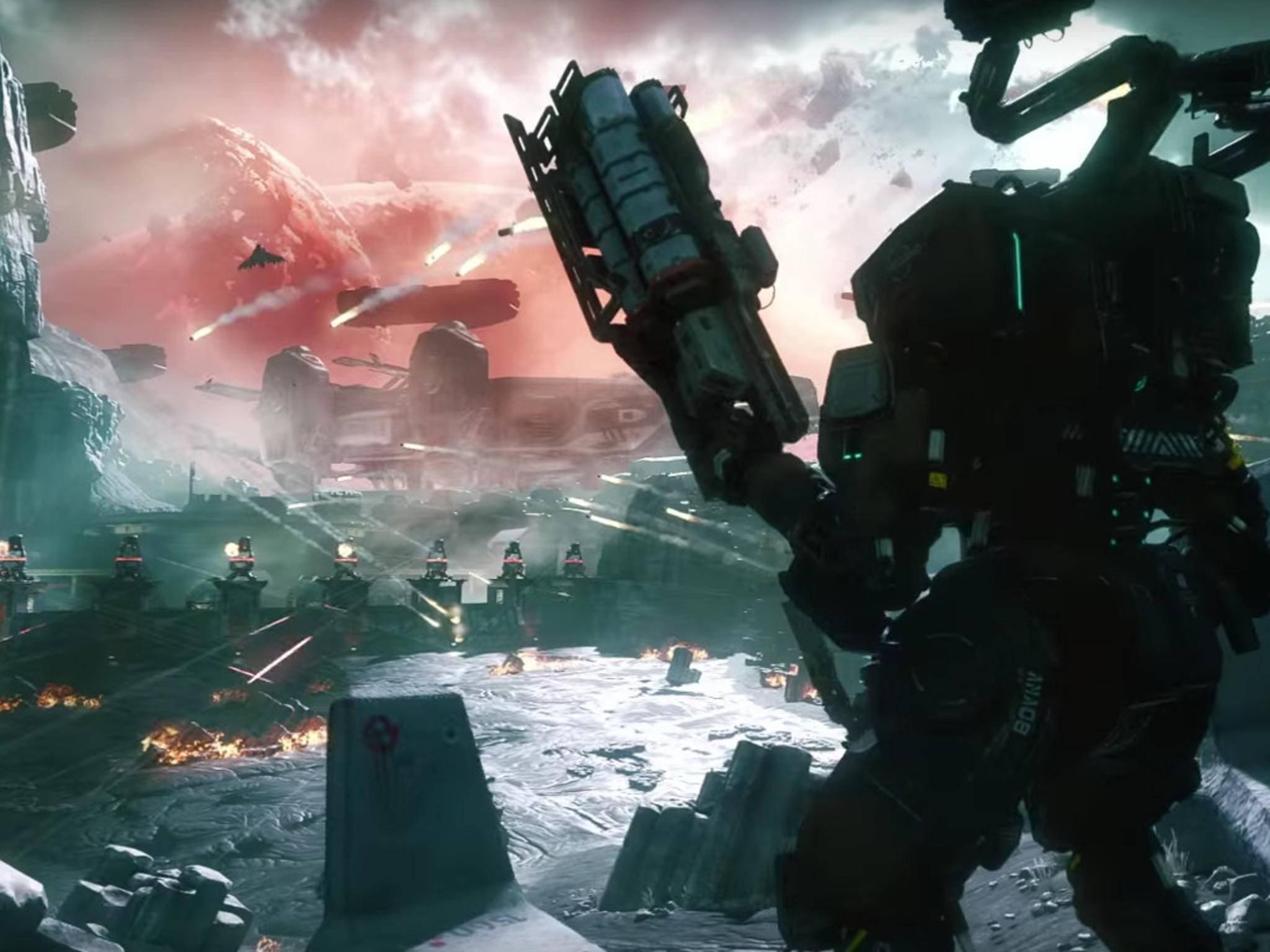 """Anders als der Vorgänger bietet """"Titanfall 2"""" auch eine Singleplayer-Kampagne."""