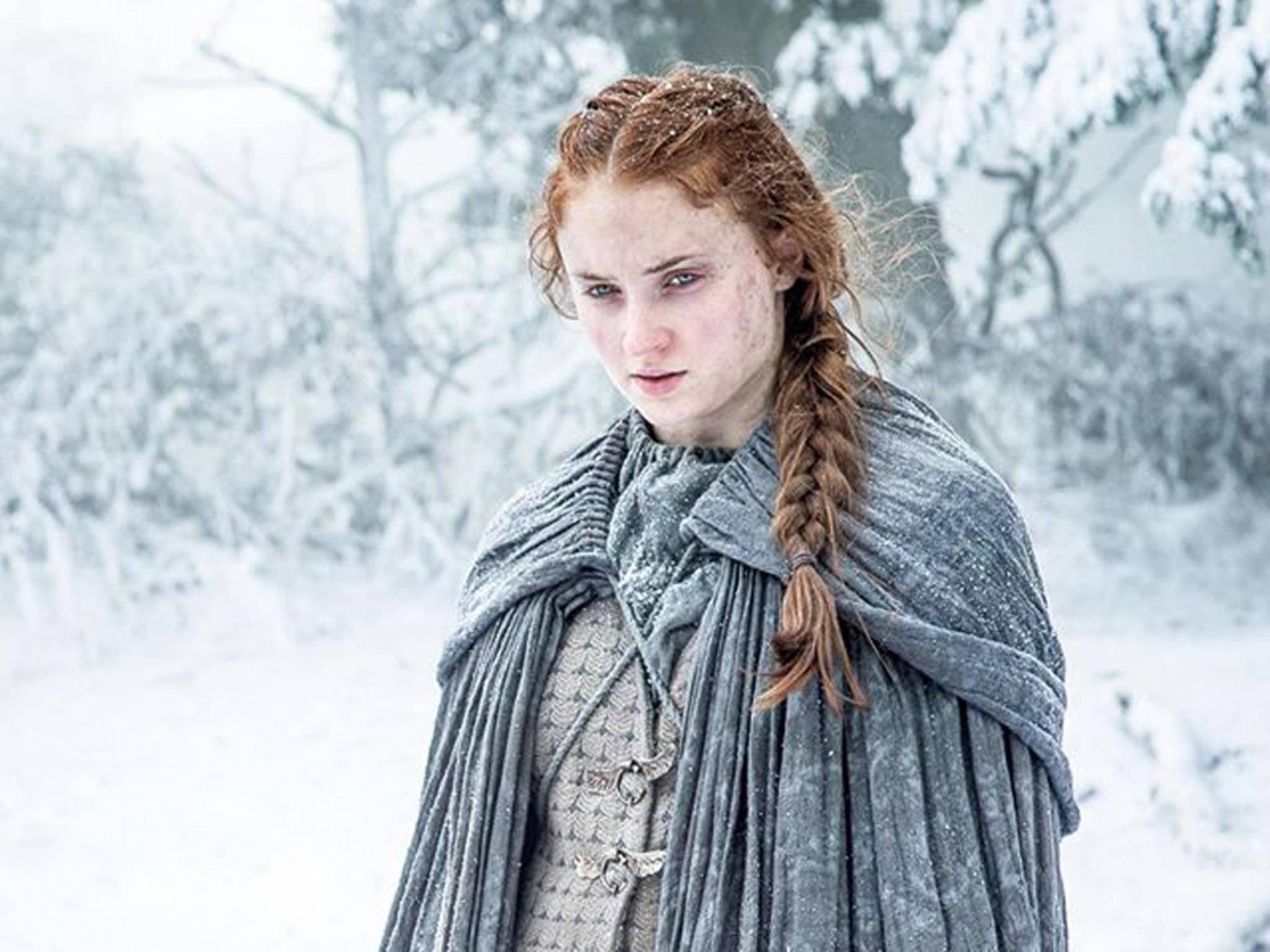 """Was erwartet Sansa Stark in """"Game of Thrones"""" Staffel 7? Darstellerin Sophie Turner gibt sich mysteriös."""