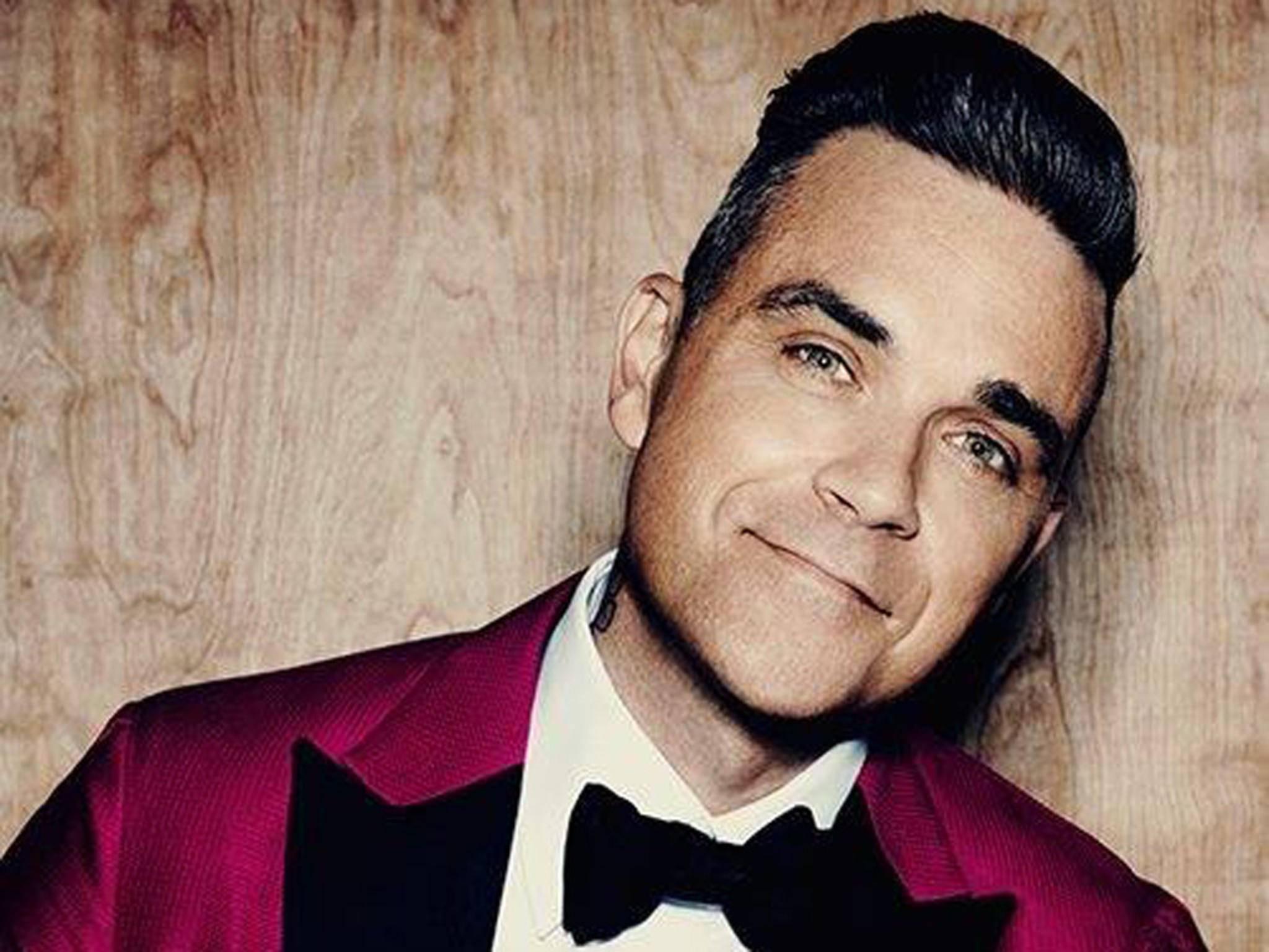 "Am 4. November feiert Robbie Williams sein Comeback – mit dem Album ""Heavy Entertainment Show""."