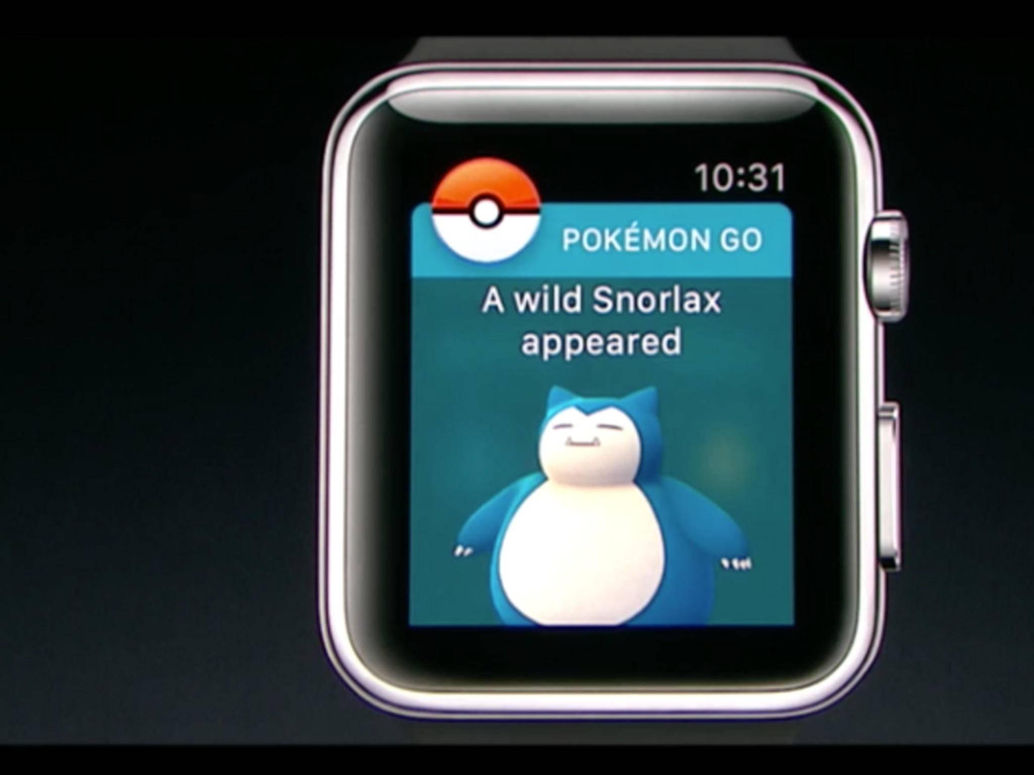 """Nicht nur Apple Watch-Besitzer können sich auf """"Pokémon Go"""" freuen."""