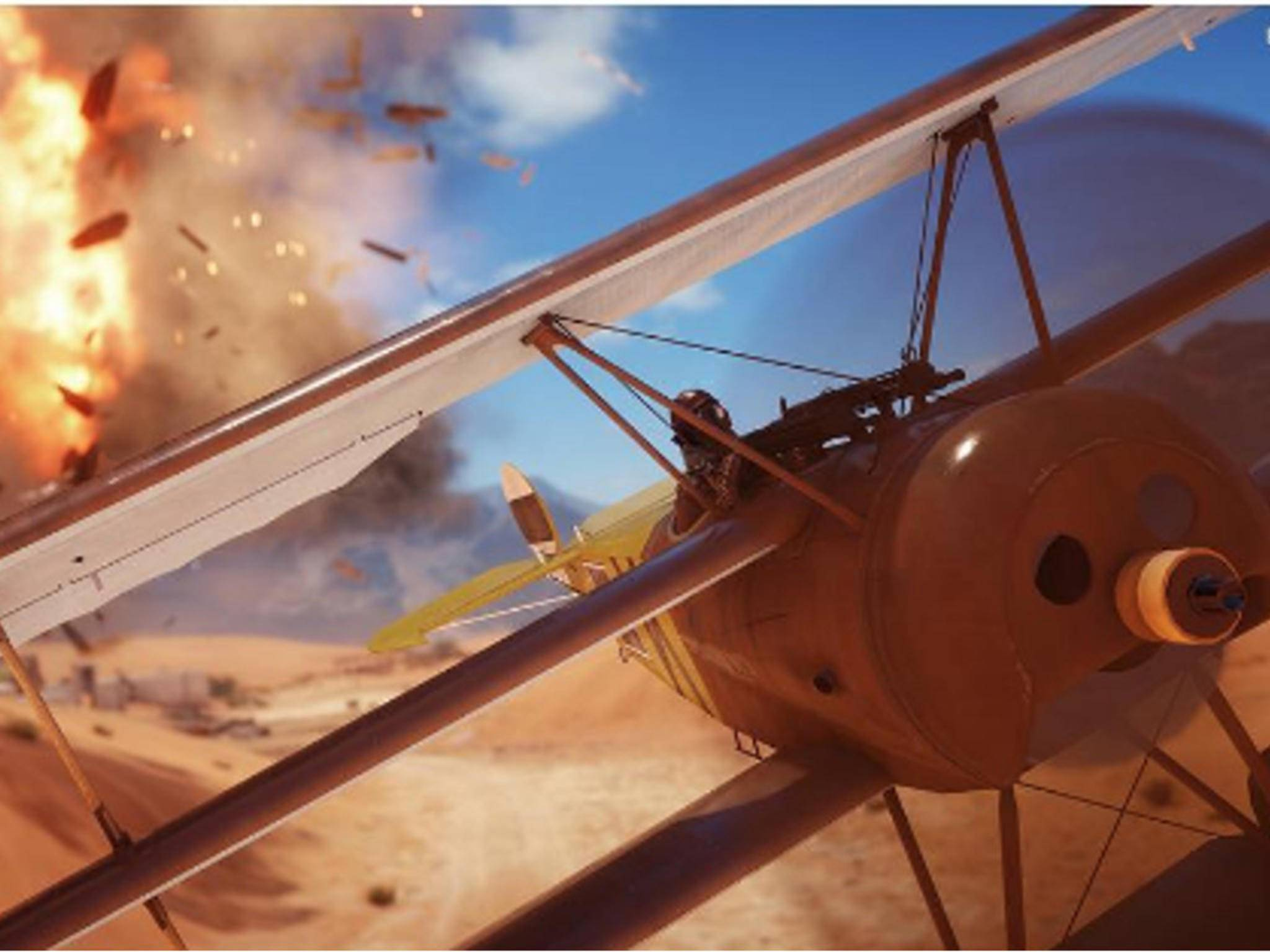 """Die Singleplayer-Kampagne von """"Battlefield 1"""" erzählt dramatische Kriegsgeschichten."""