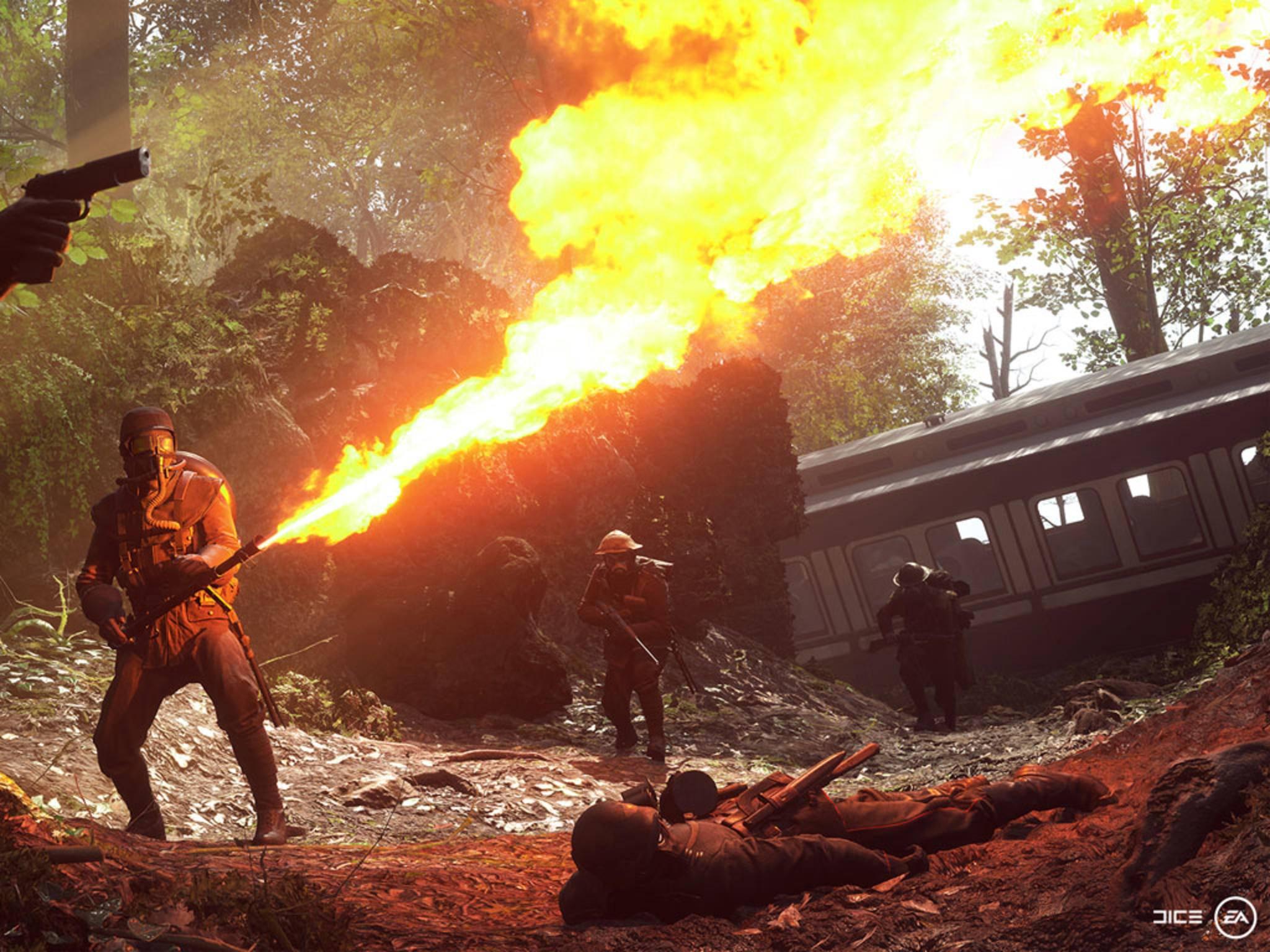 """Die Singleplayer-Kampagne in """"Battlefield 1"""" wird aus unterschiedlichen Perspektiven erzählt."""