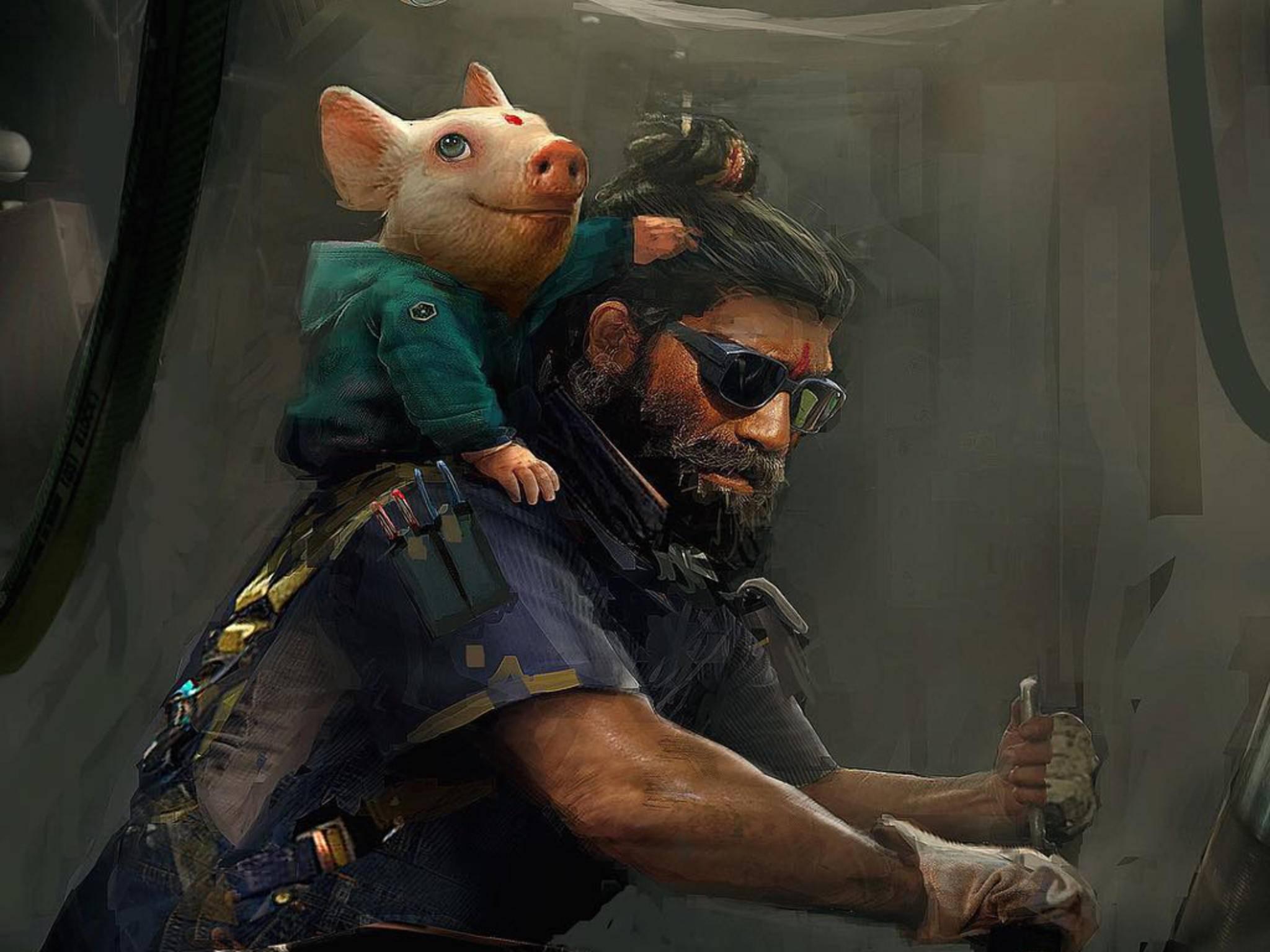 """Deutet dieses Bild auf """"Beyond Good & Evil 2"""" hin?"""