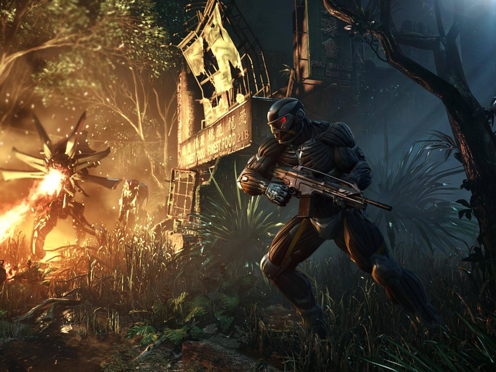 """""""Crysis Remastered"""" kommt am 23. Juli für PlayStation, Xbox, PC und Nintendo Switch."""