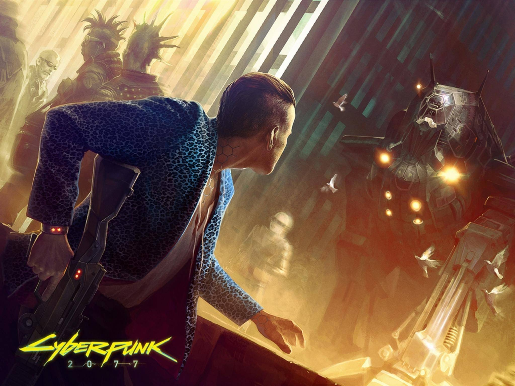 """""""Cyberpunk 2077"""" soll einen übergangslosen Multiplayer bekommen."""