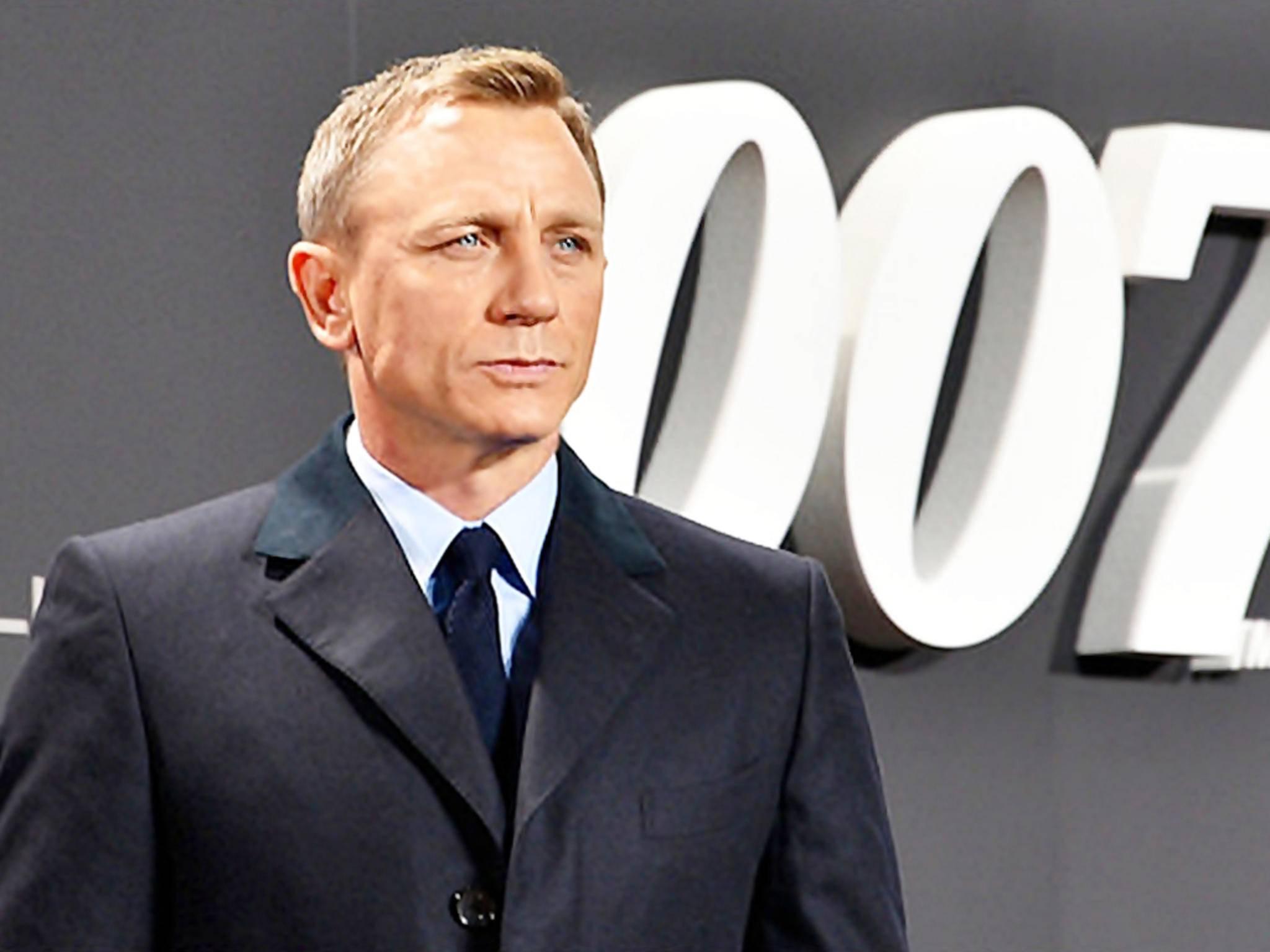 Daniel Craig Filmpremiere Spectre 2015