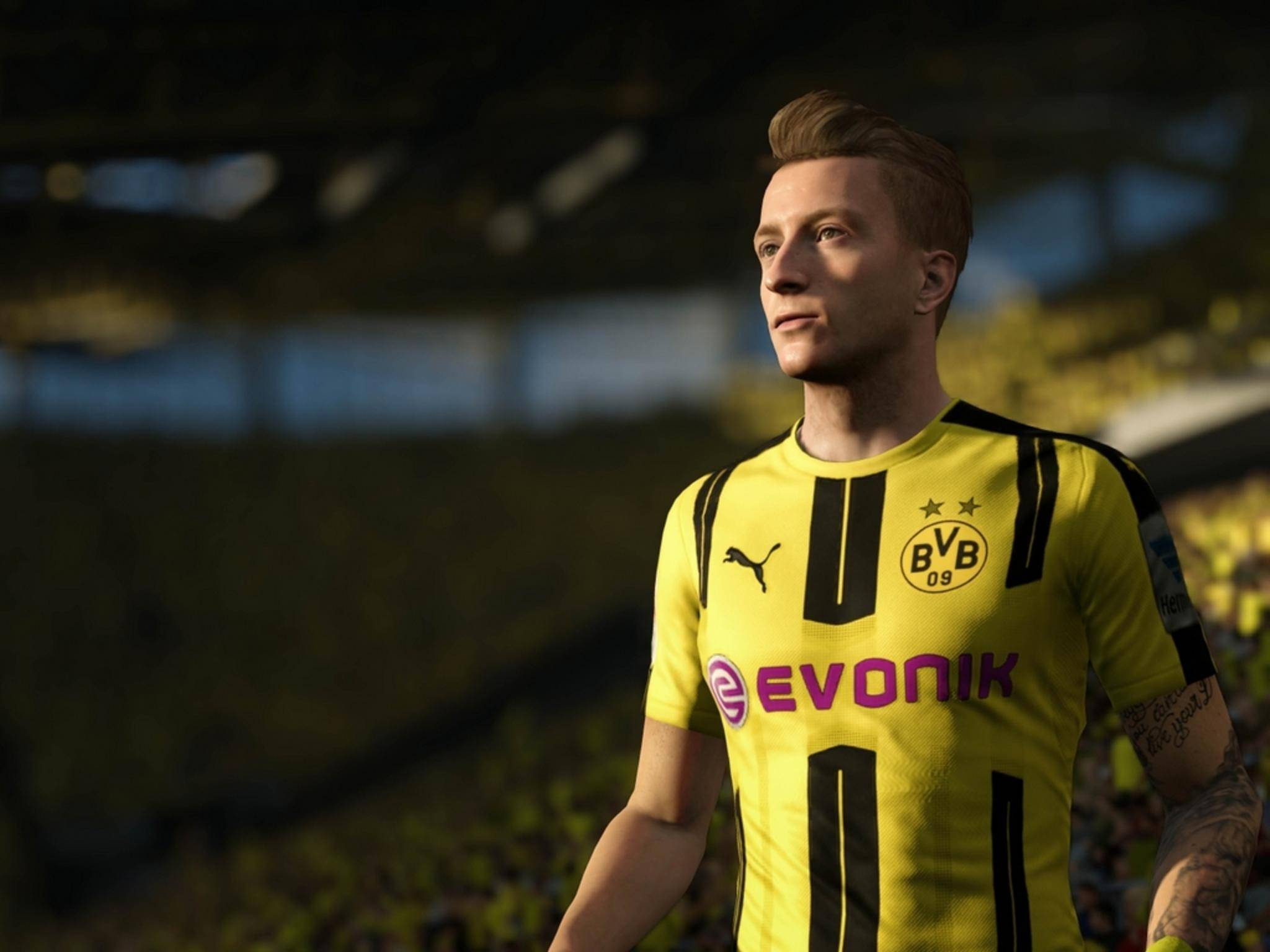 Marco Reus ist zwar nicht günstig, aber mit einer Wertung von 88 Punkten einer der besten Spieler von FIFA 17.