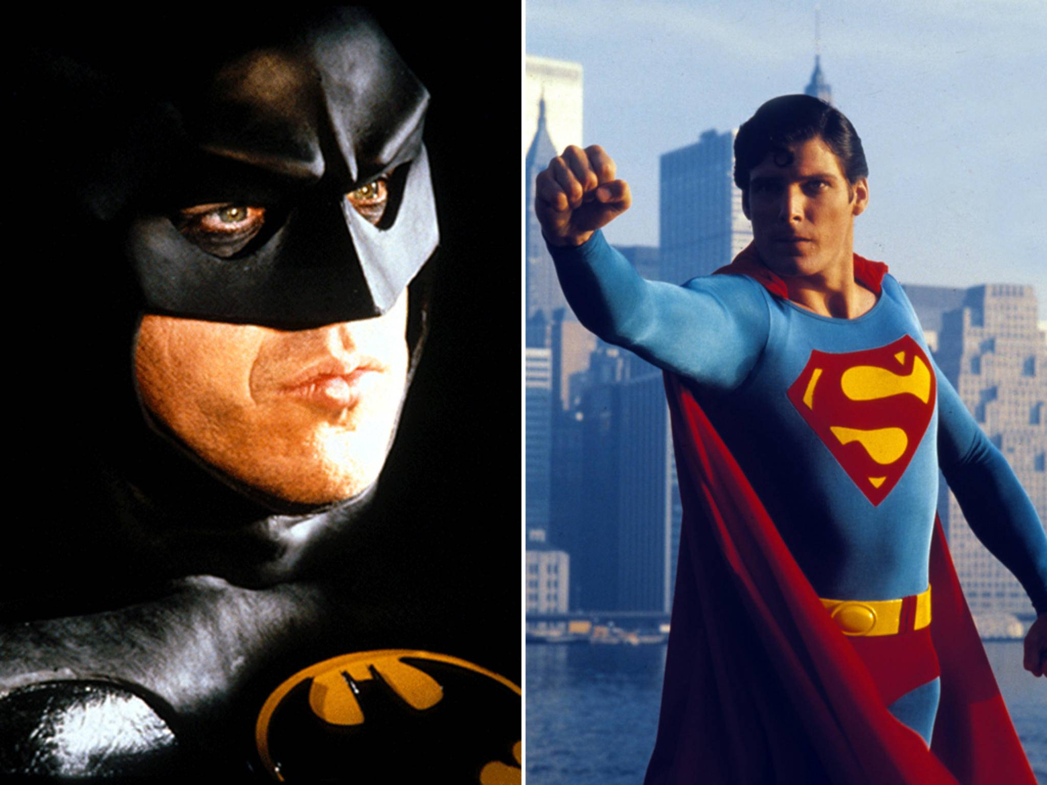 Michael Keaton versus Christopher Reeve: Wer würde gewinnen?