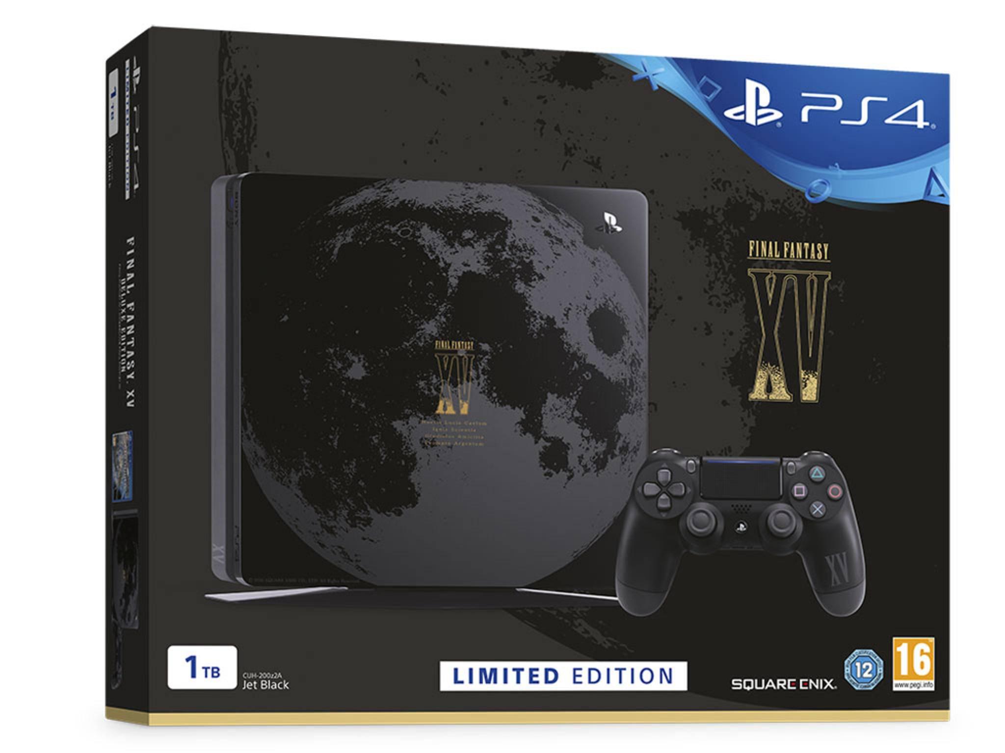 """Die exklusive und limitierte """"Final Fantasy XV""""-PS4-Edition kommt nach Deutschland."""